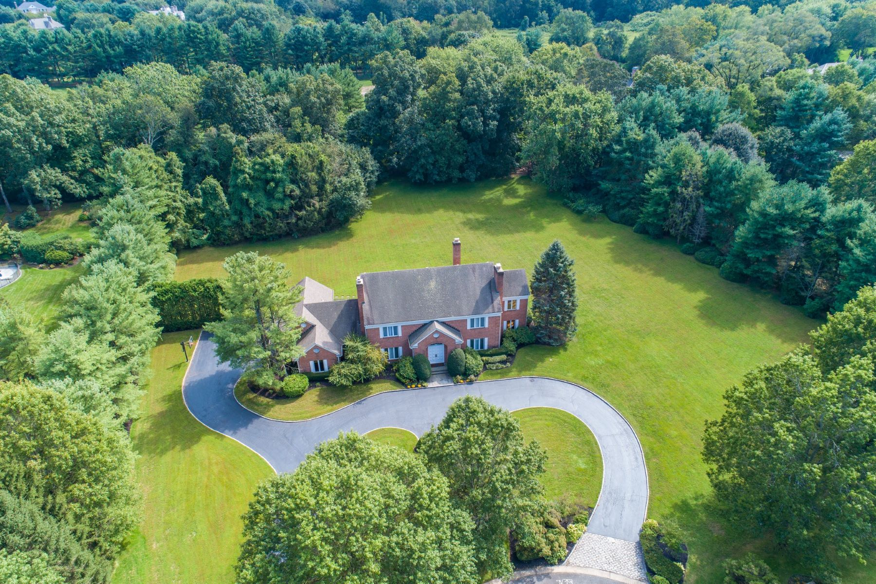 Single Family Homes for Sale at Old Brookville 10 High Meadow Ct Old Brookville, New York 11545 United States