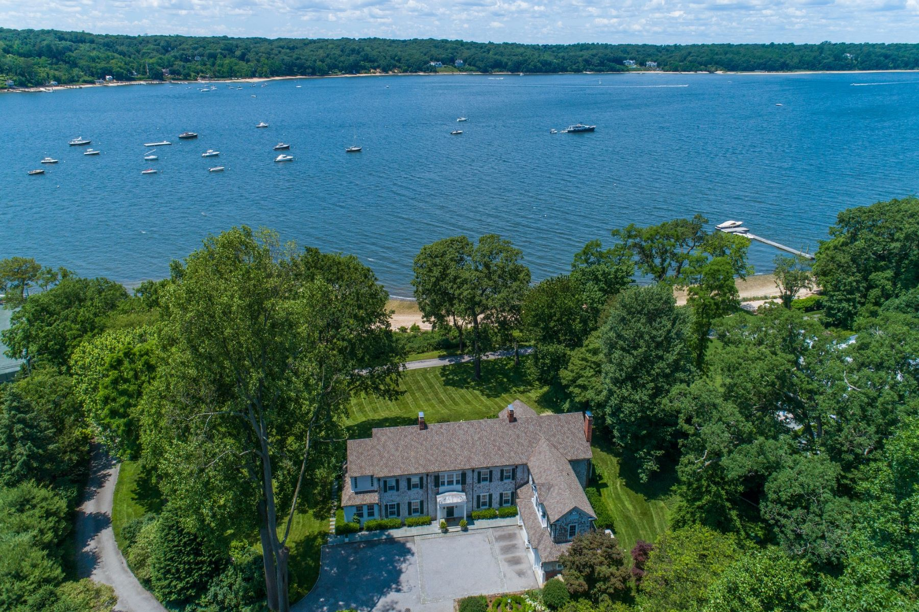 Single Family Homes for Sale at Cold Spring Hrbr 108 Shore Rd Cold Spring Harbor, New York 11724 United States