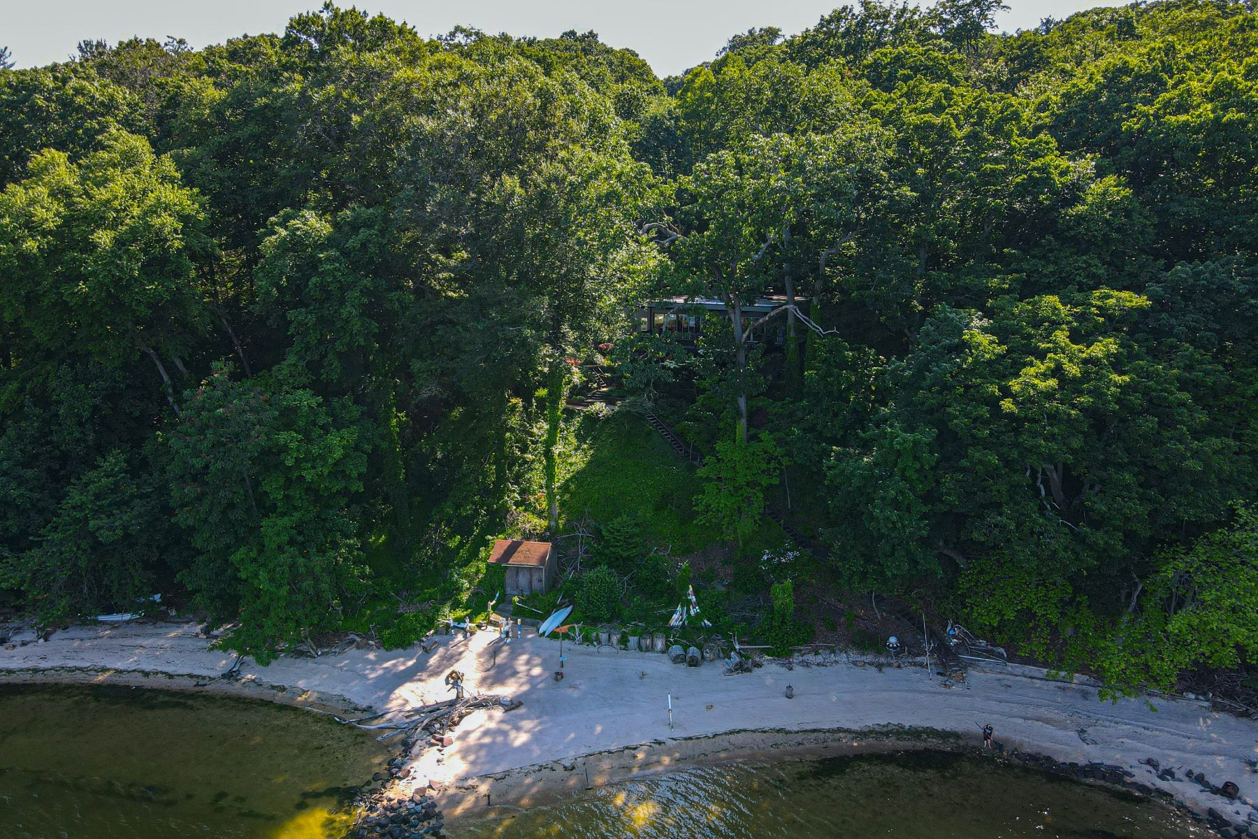 Single Family Homes for Sale at Laurel Hollow 1372 Ridge Road Laurel Hollow, New York 11791 United States