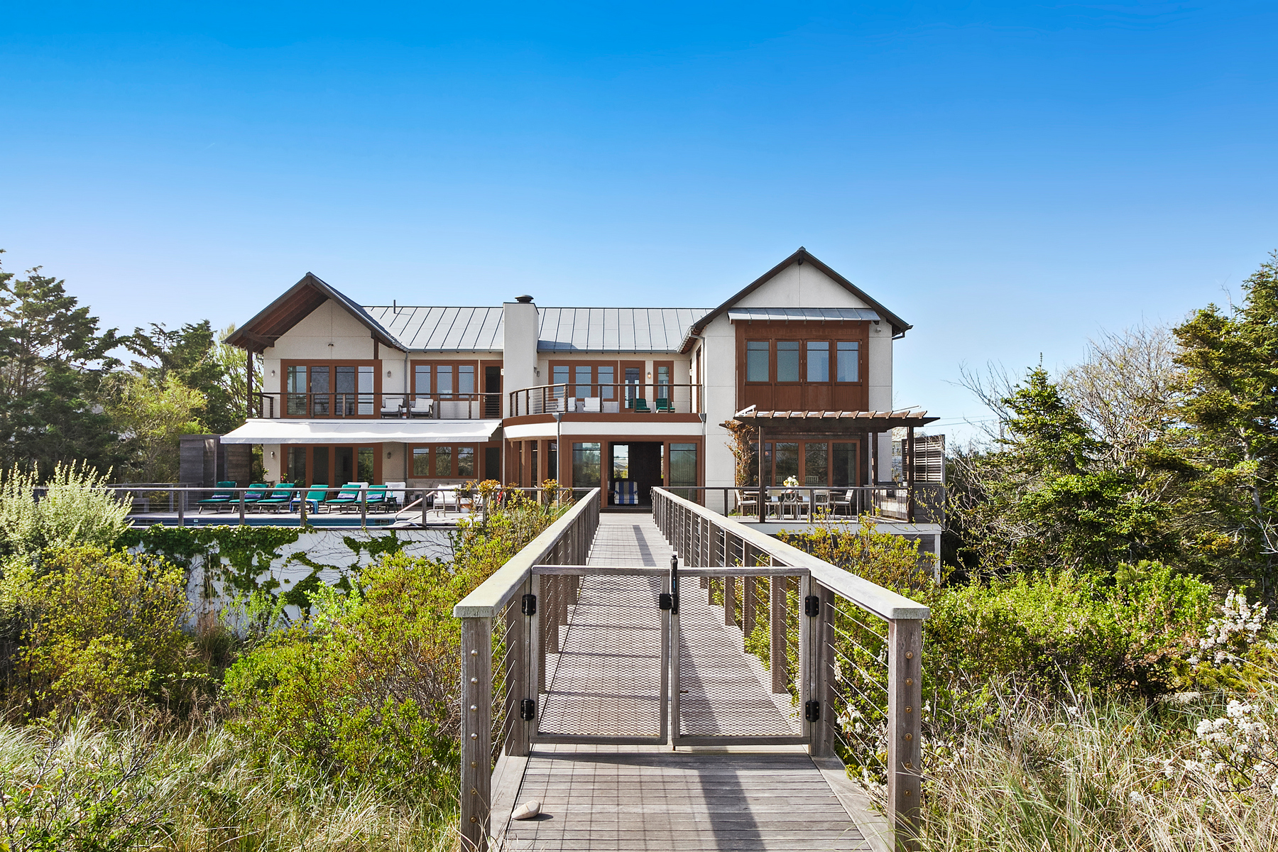 Single Family Homes for Sale at Westhampton Bch 127 Dune Road Westhampton Beach, New York 11978 United States