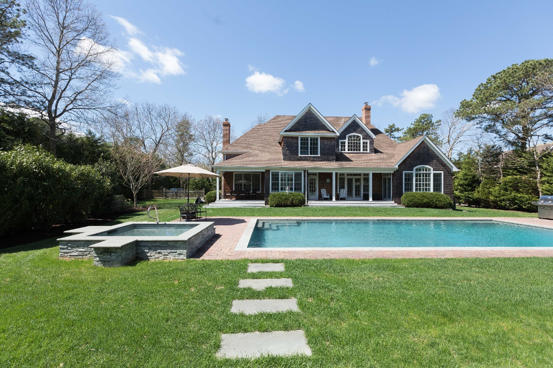 Single Family Homes for Sale at Quogue 15 Post Fields Ln Quogue, New York 11959 United States