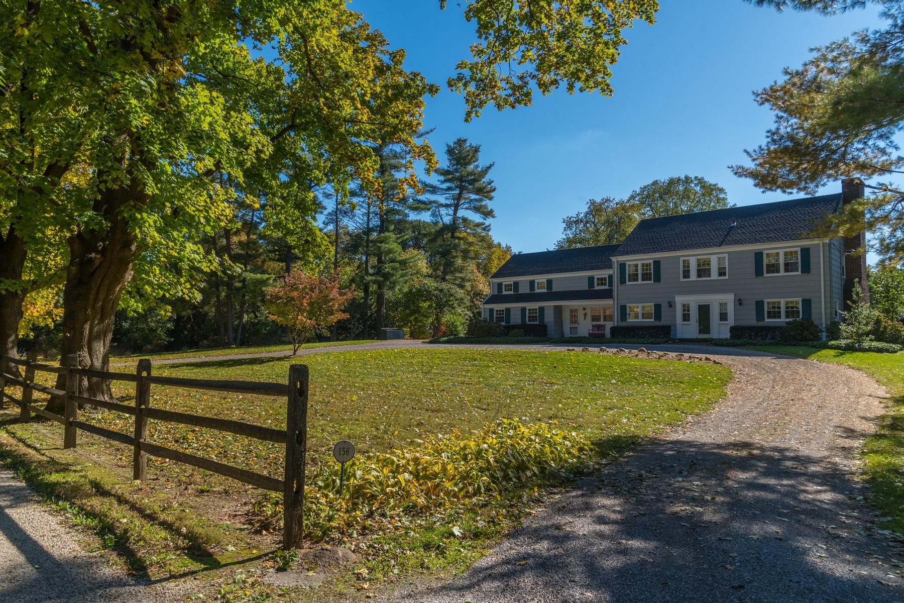 Single Family Homes for Sale at Old Brookville 156 Hegemans Ln Old Brookville, New York 11545 United States