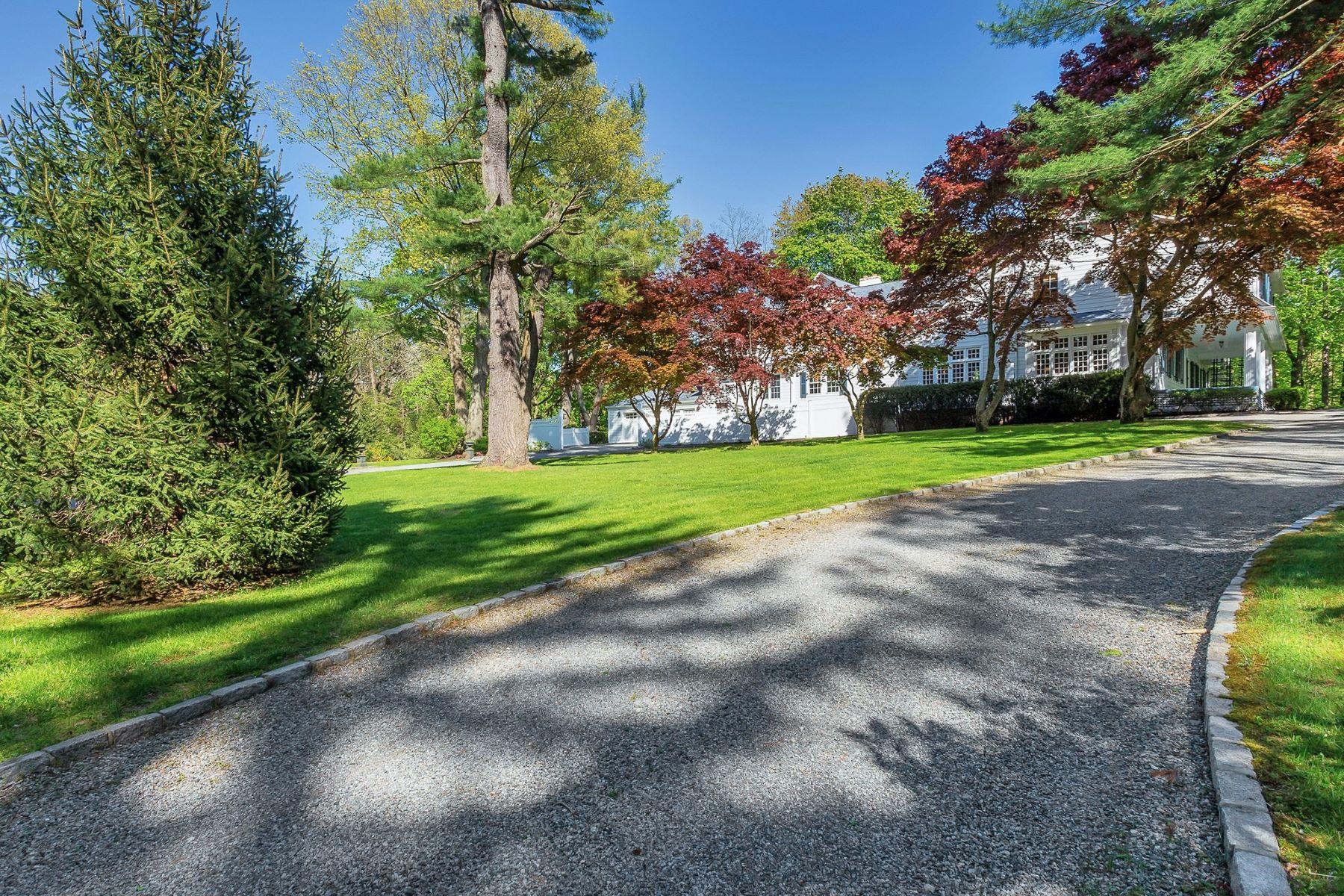 Single Family Homes 為 出售 在 Mill Neck 465 Oyster Bay Road, Mill Neck, 纽约 11765 美國