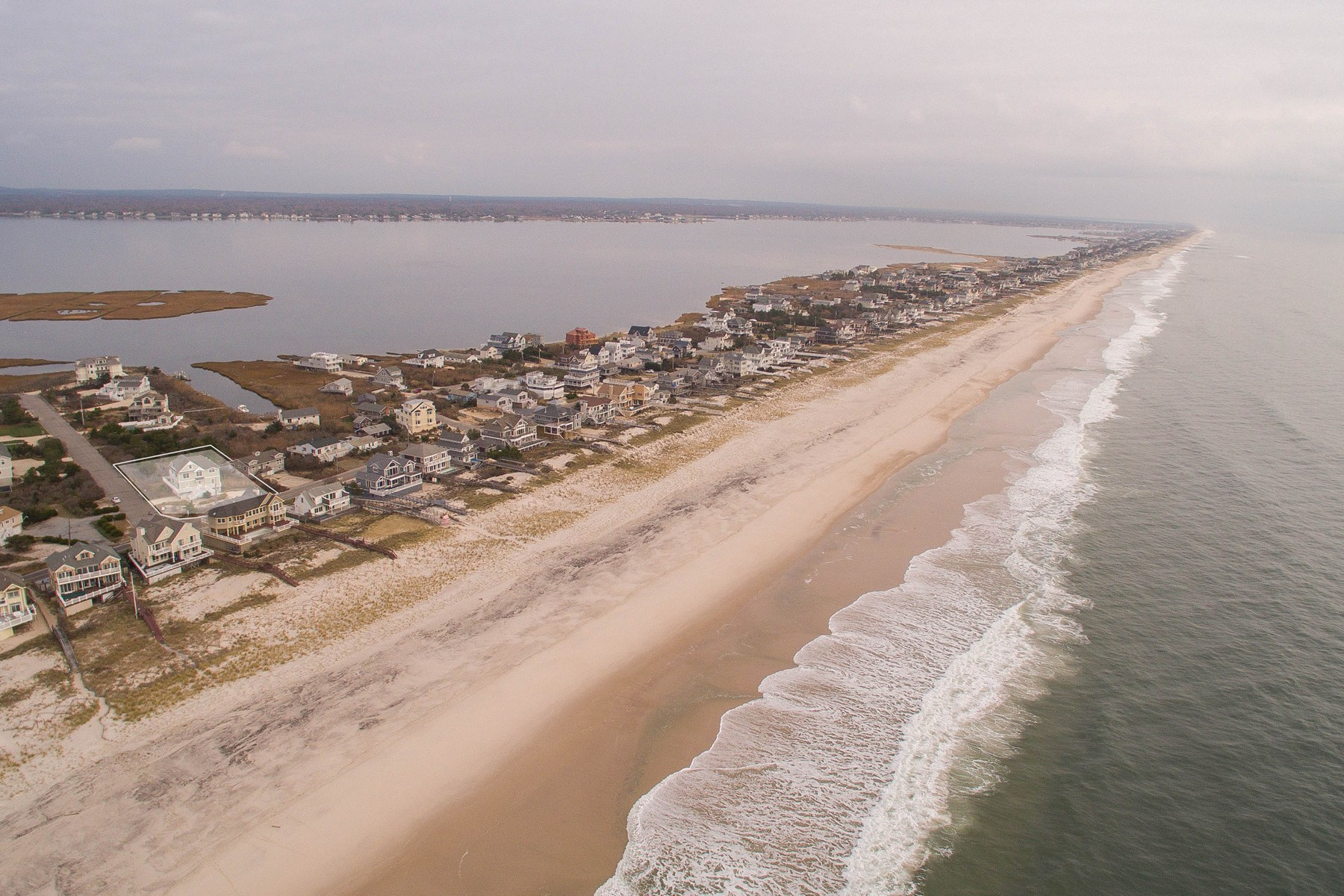 Single Family Homes for Sale at Westhampton Bch 902 Dune Rd Westhampton Beach, New York 11978 United States