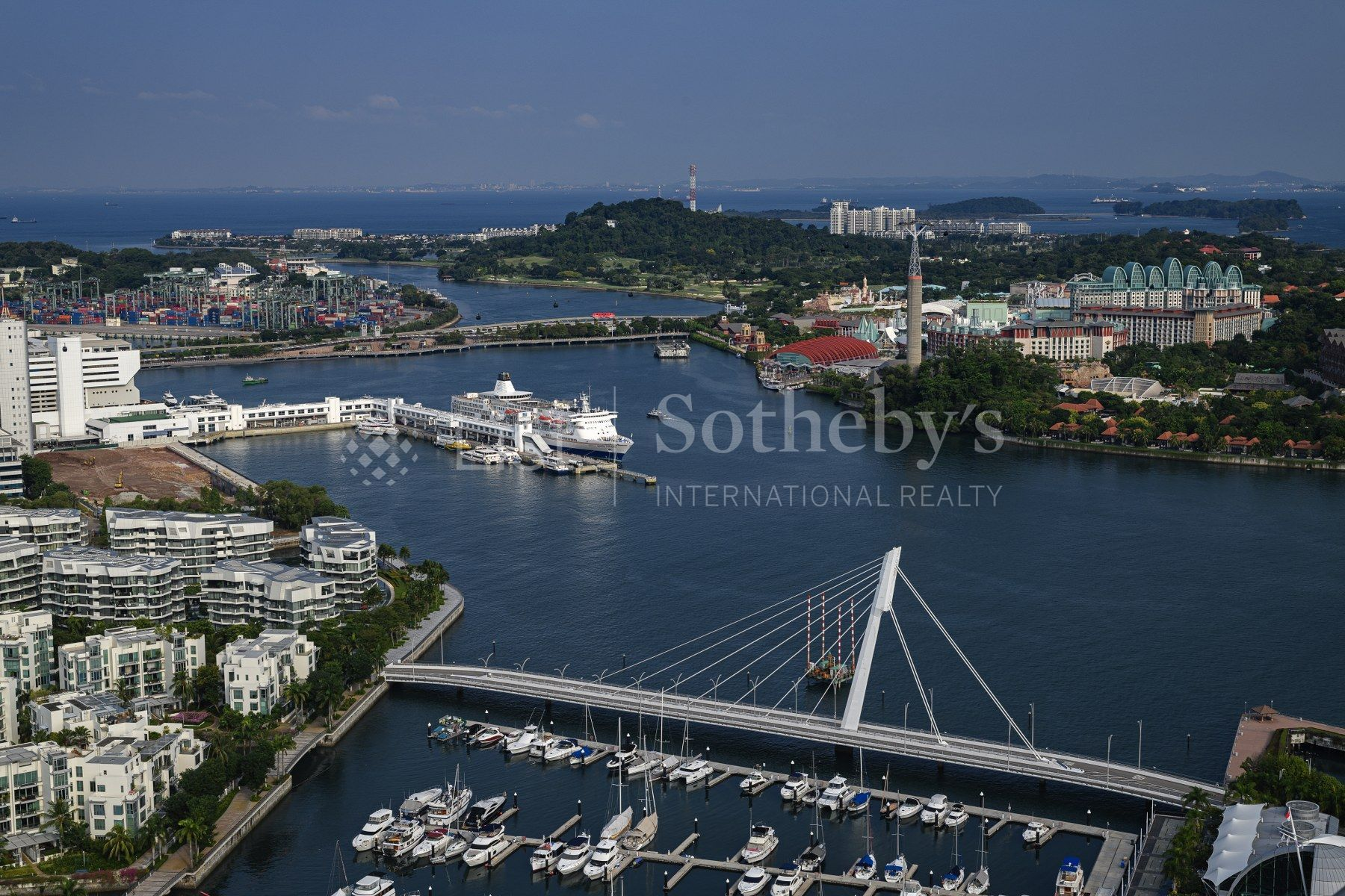 Additional photo for property listing at Reflections at Keppel Bay Super Penthouse 1 Keppel Bay View Singapore, Cidades Em Singapura 098417 Cingapura