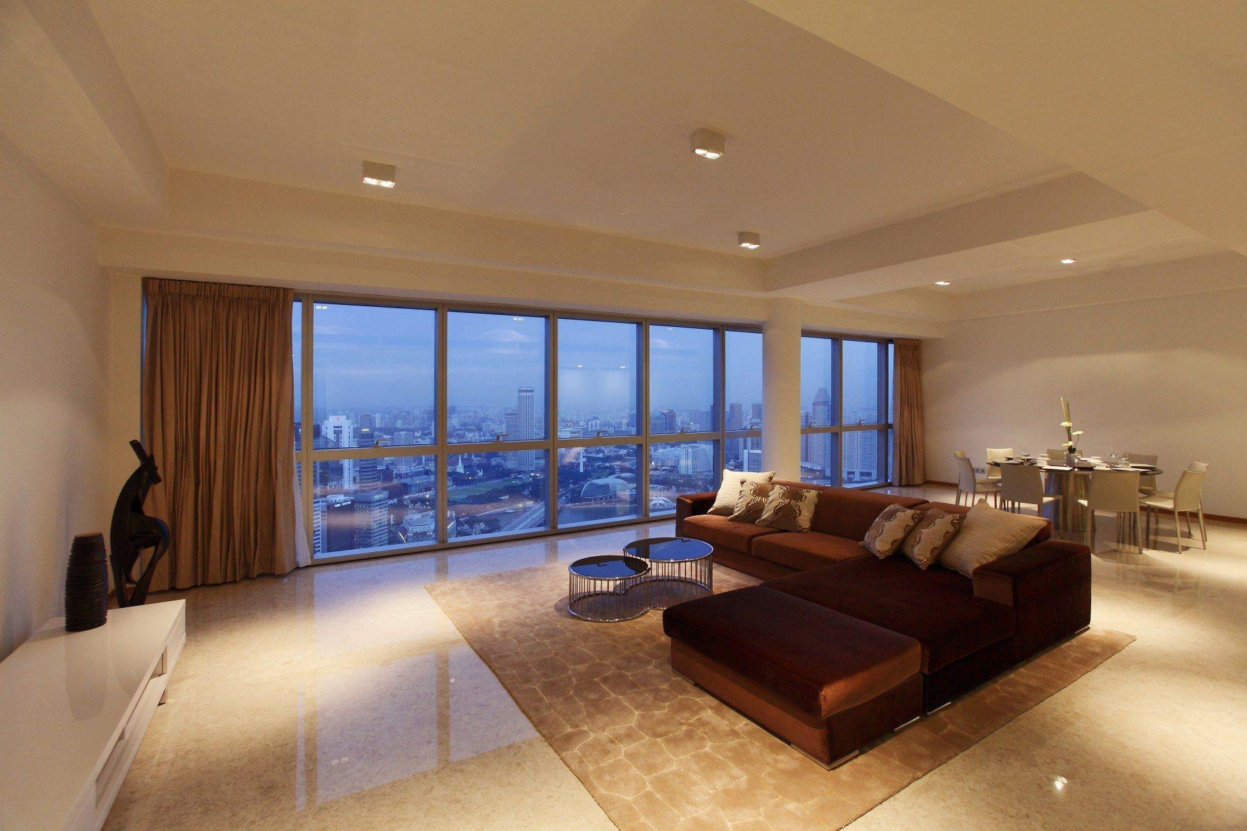 Condominiums por un Venta en Marina Bay Residences Penthouse 18 Marina Boulevard Singapore, Ciudades En Singapur 018980 Singapur