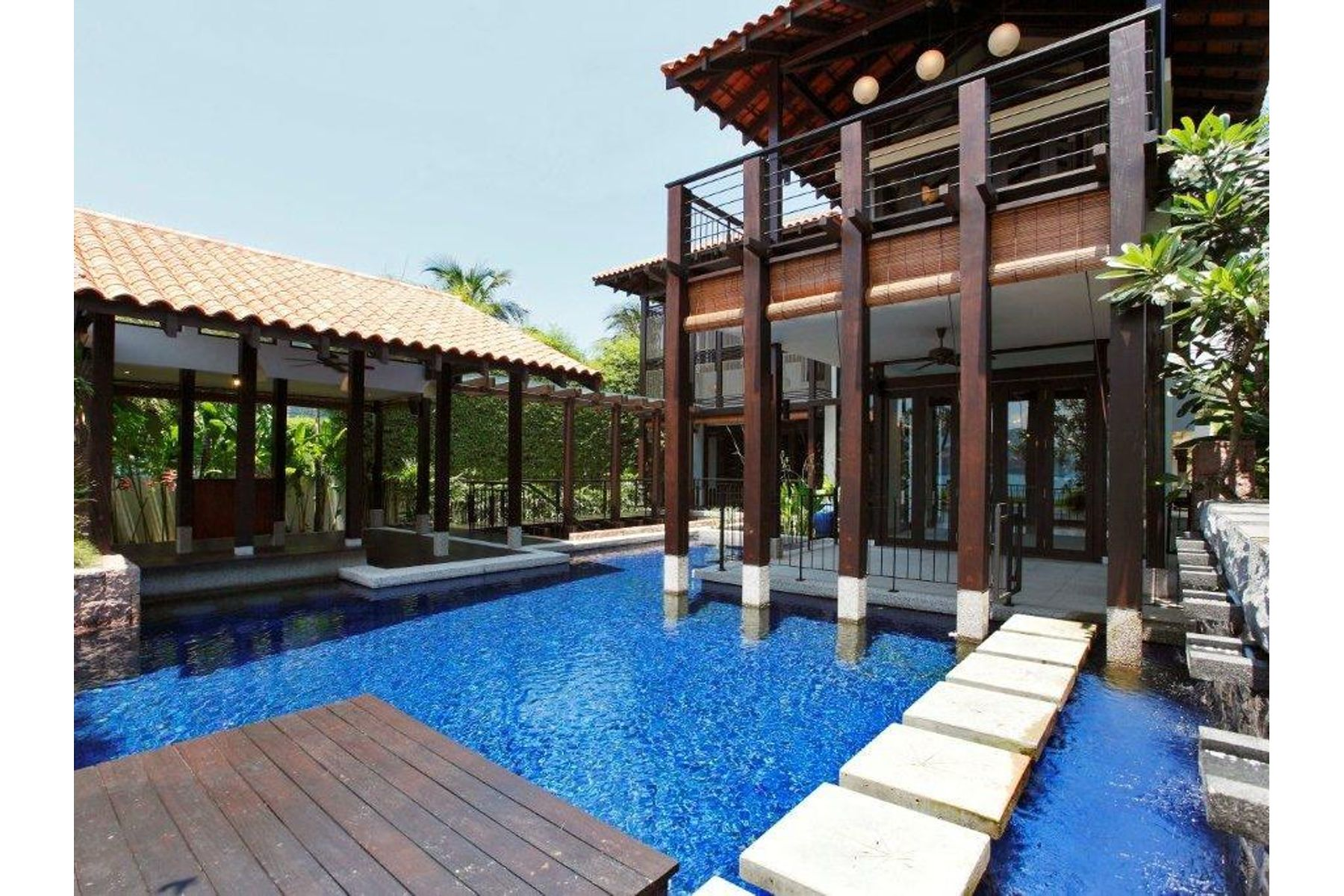 Property for Sale at Seafront Bungalow, Sentosa Cove Singapore, Cities In Singapore Singapore