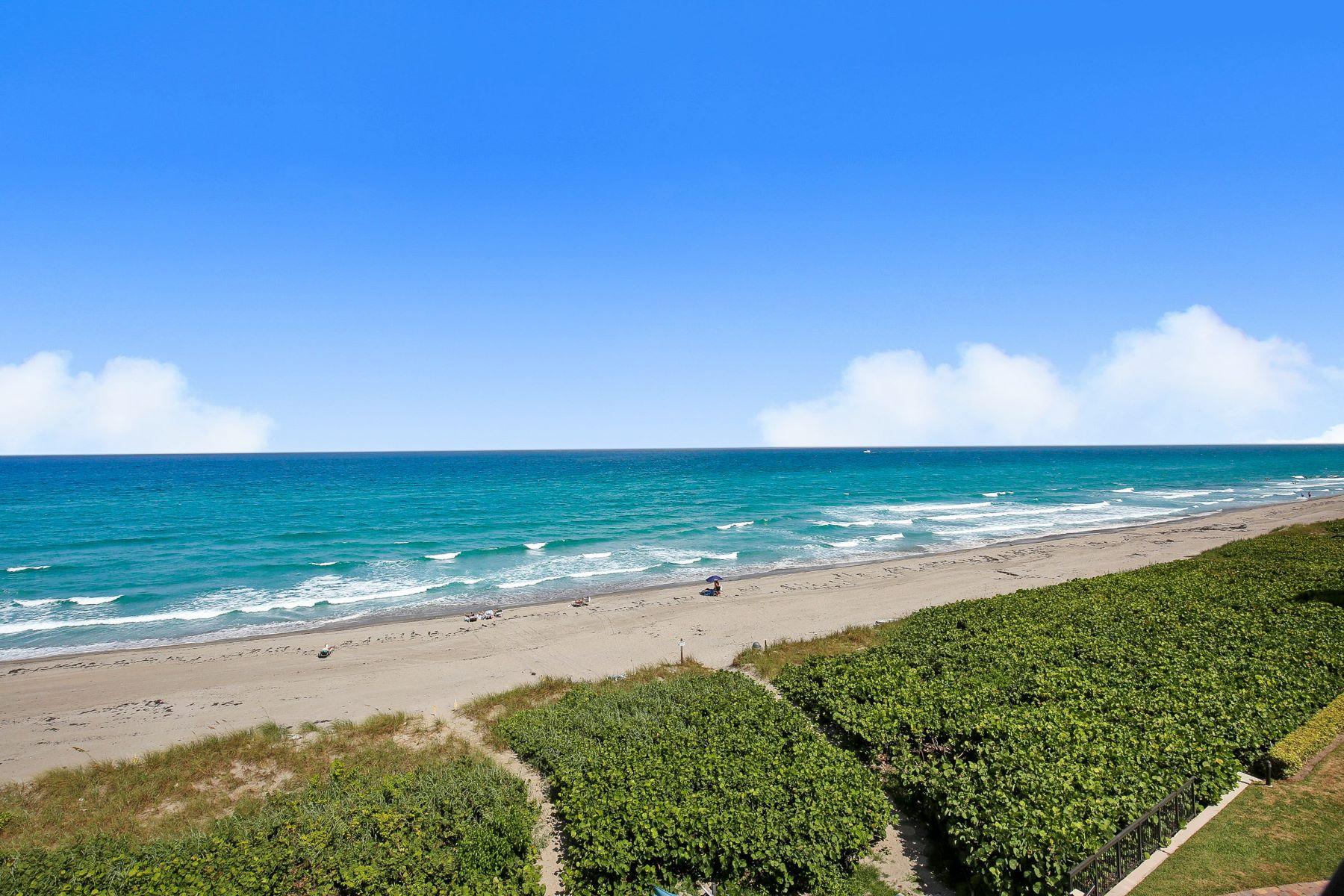 Townhouse for Active at 2565 S Ocean Boulevard 2565 S Ocean Boulevard 209n Highland Beach, Florida 33487 United States
