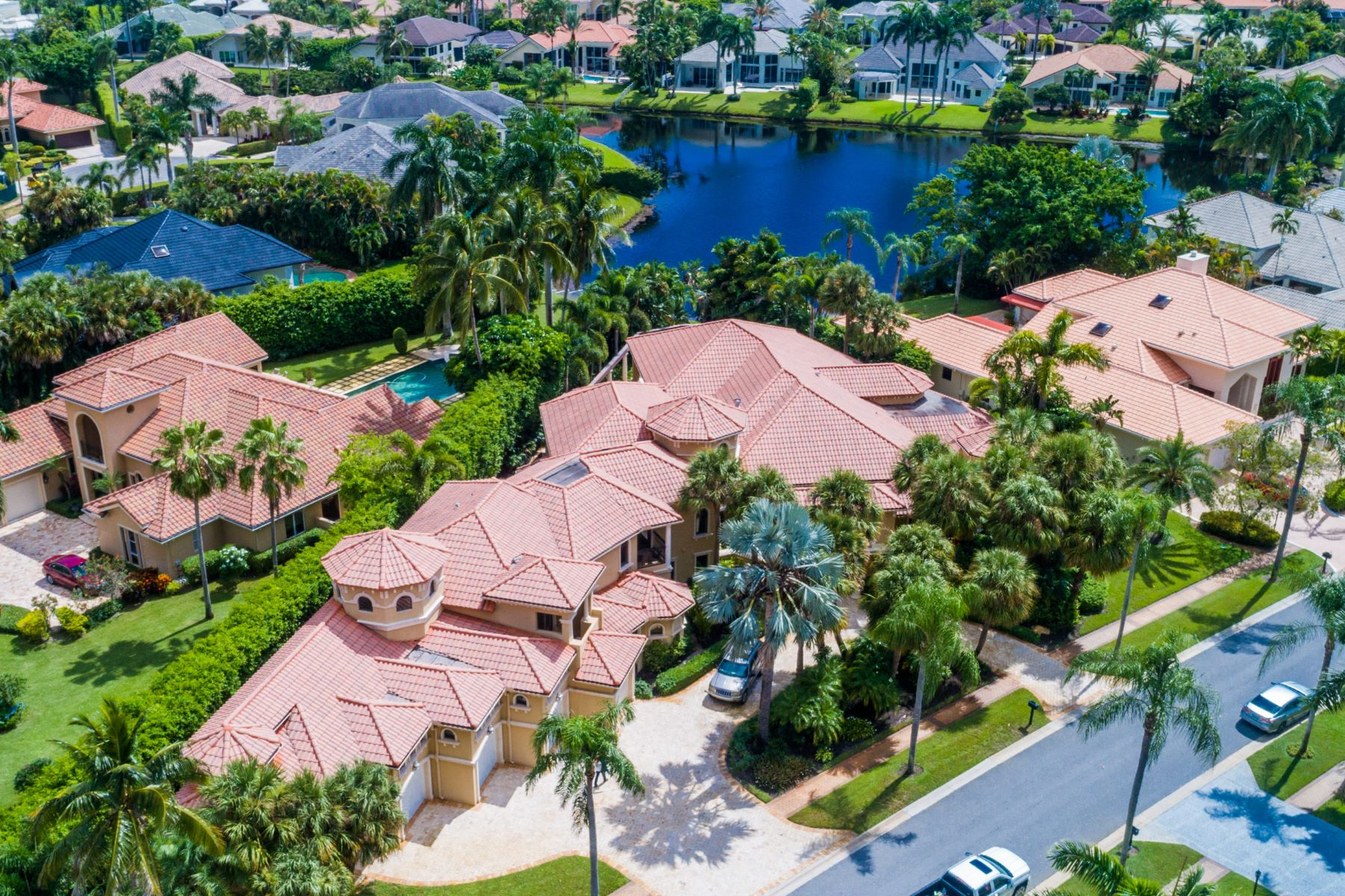 Single Family Home for Active at 6915 Queenferry Circle 6915 Queenferry Circle Boca Raton, Florida 33496 United States
