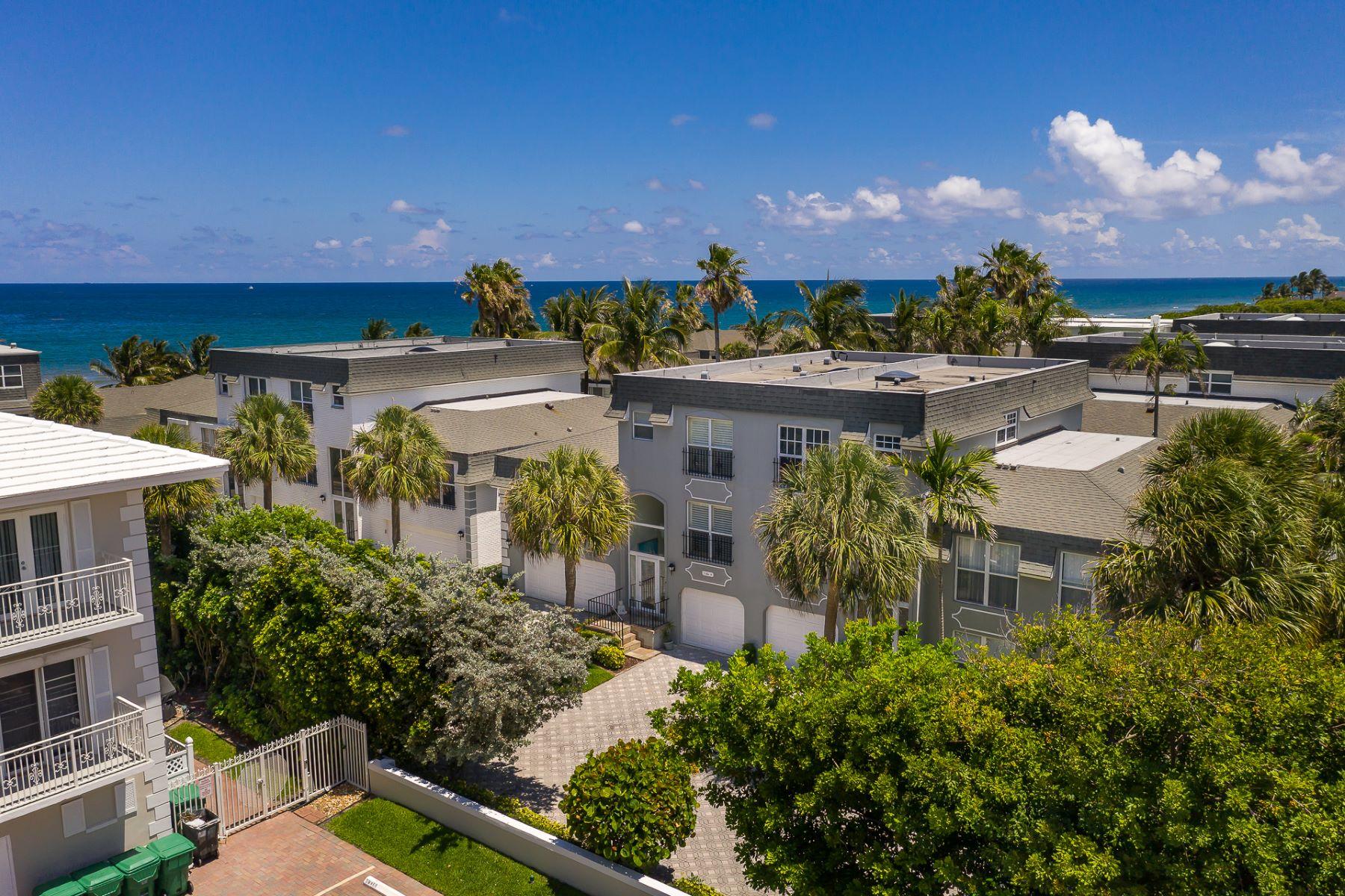 townhouses für Verkauf beim 1194 Hillsboro Mile 8, Hillsboro Beach, Florida 33062 Vereinigte Staaten
