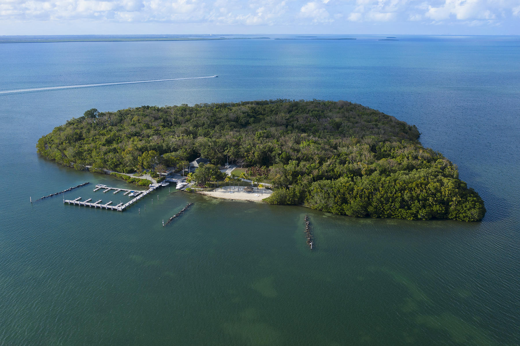 private islands для того Продажа на 10 Cannon Point, Key Largo, FL 10 Cannon Point Key Largo, Флорида 33037 Соединенные Штаты