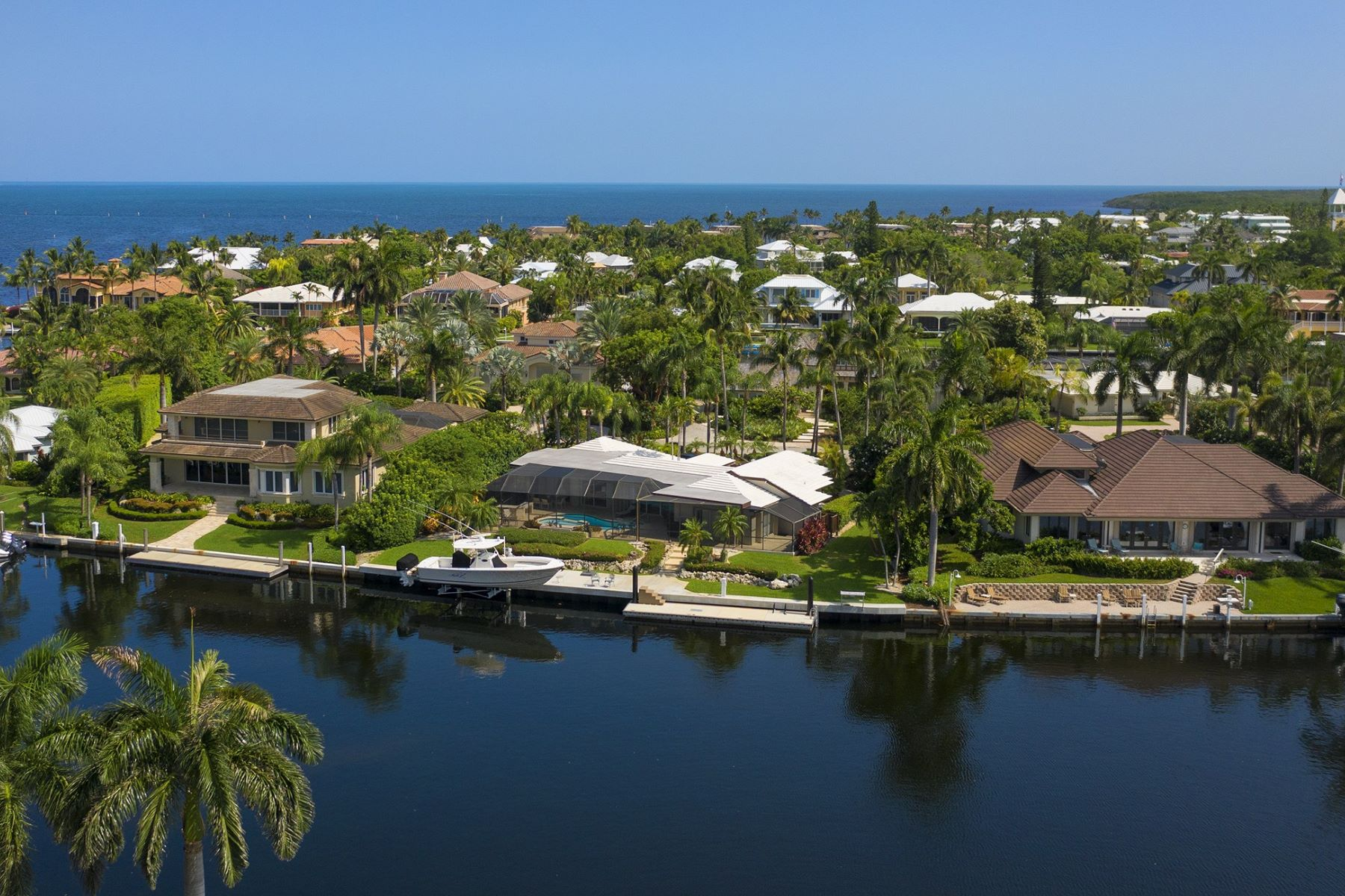 Single Family Homes のために 売買 アット 26 Channel Cay Road, Key Largo, FL Key Largo, フロリダ 33037 アメリカ