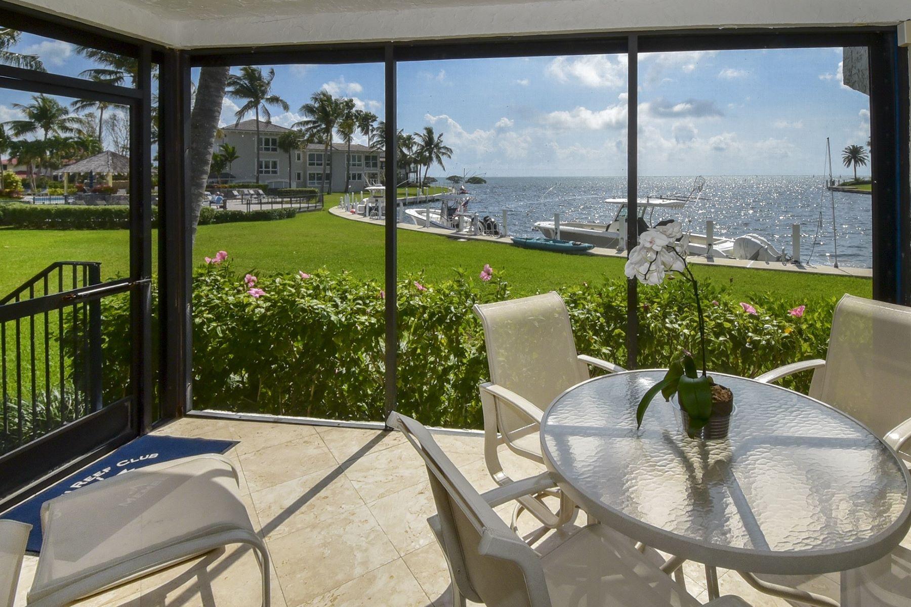 Condominiums 为 销售 在 81 Snapper Lane, #A, Key Largo, FL 81 Snapper Lane A 拉哥, 佛罗里达州 33037 美国