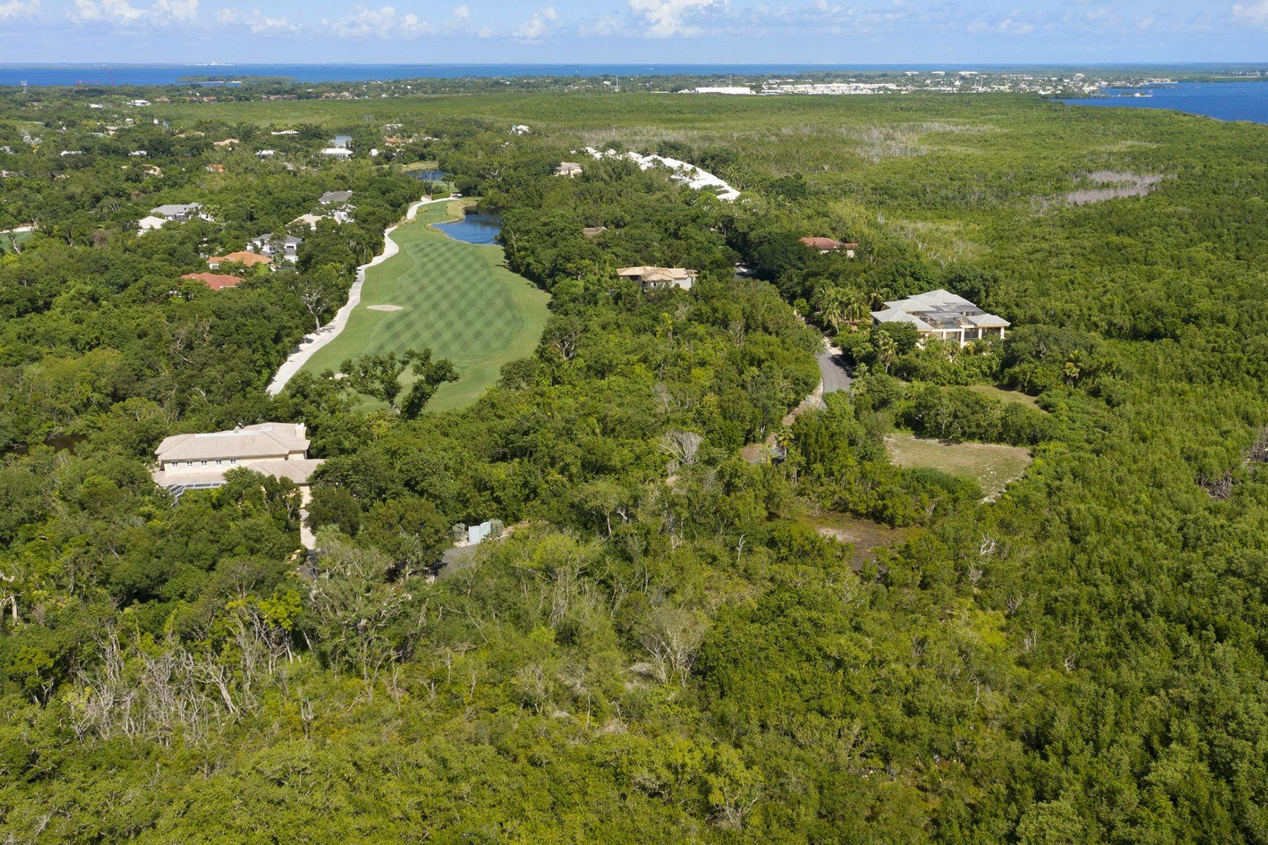 Terrain pour l Vente à 630 Coral Lane, Key Largo, FL Key Largo, Floride 33037 États-Unis