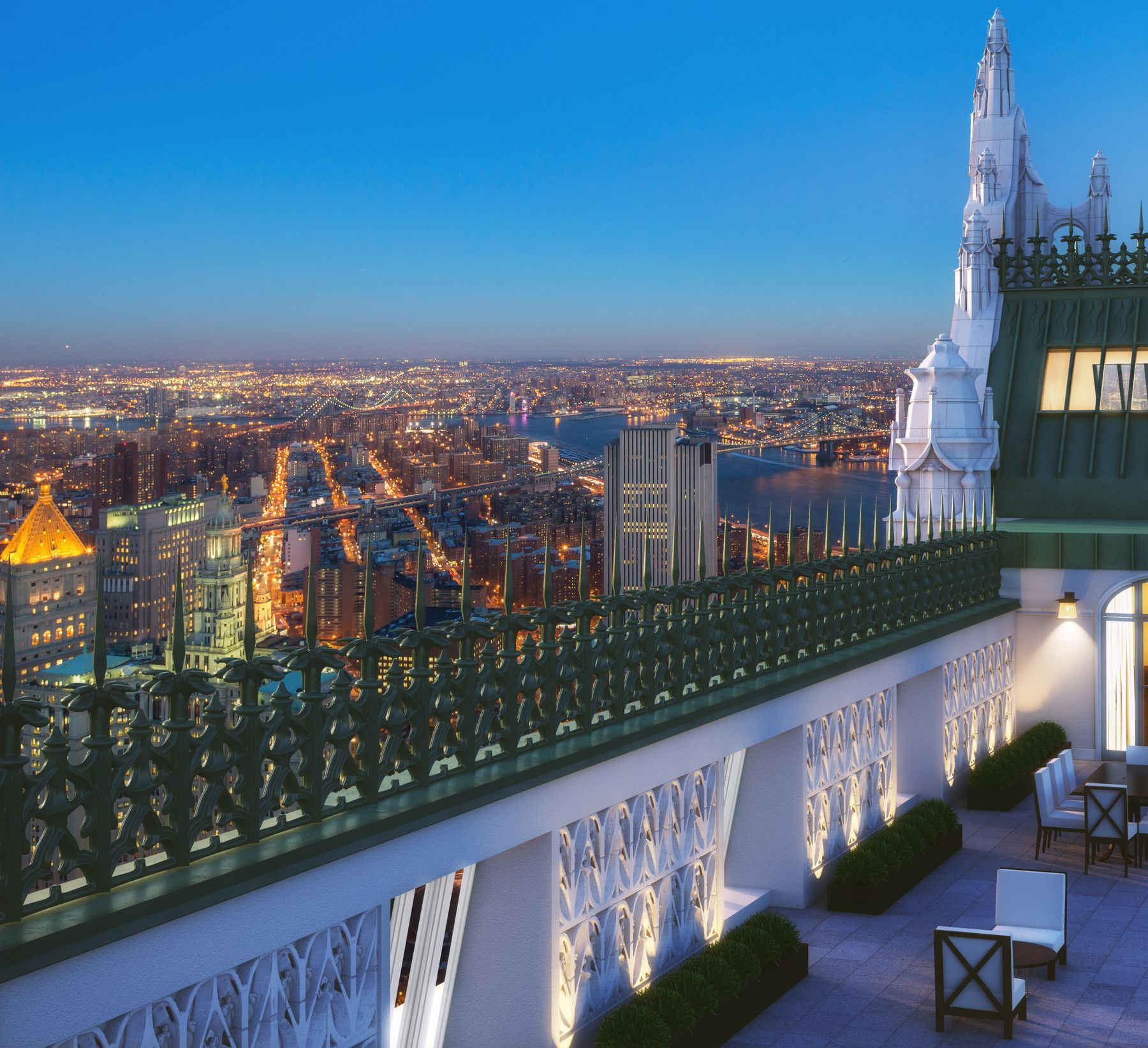 condominiums for Sale at Woolworth Tower Residences - Pavilion A 2 Park Place Apt Pavilion A, New York, New York 10007 United States