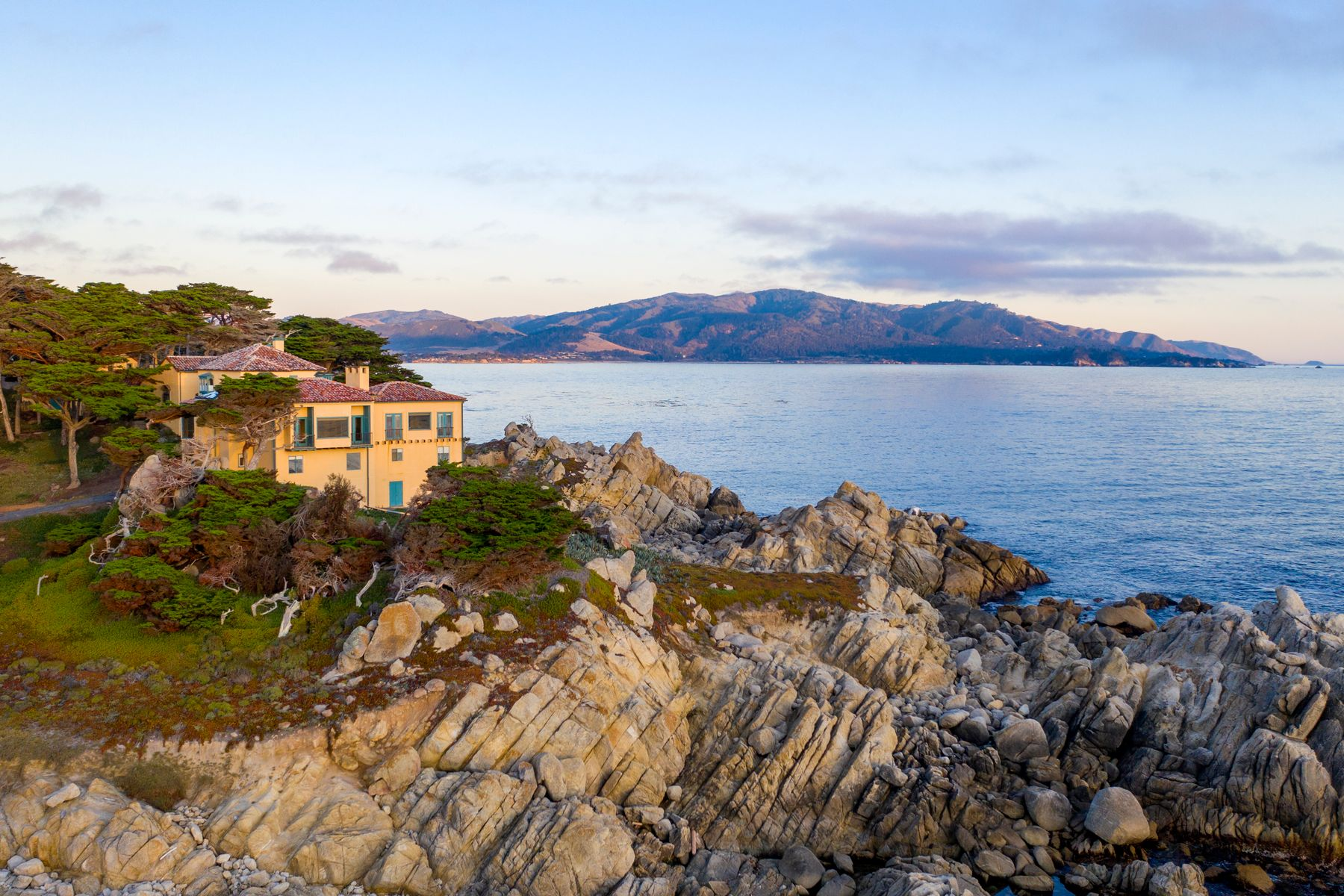 Single Family Homes for Sale at Best Oceanfront Setting in Pebble Beach 3200 17 Mile Drive Pebble Beach, California 93953 United States