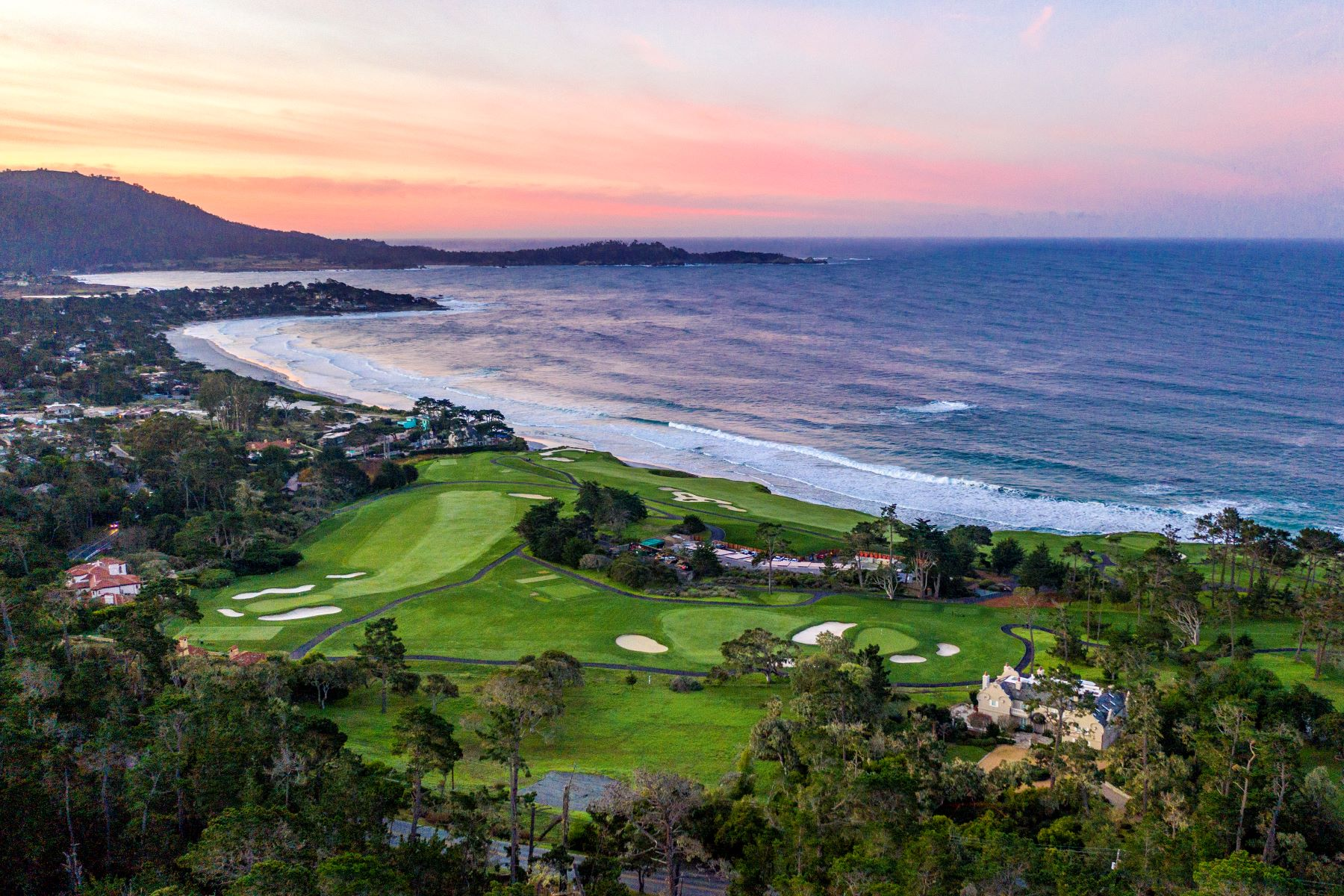 Land for Active at Lot on Pebble Beach Golf Links 3414 17 Mile Drive Pebble Beach, California 93953 United States