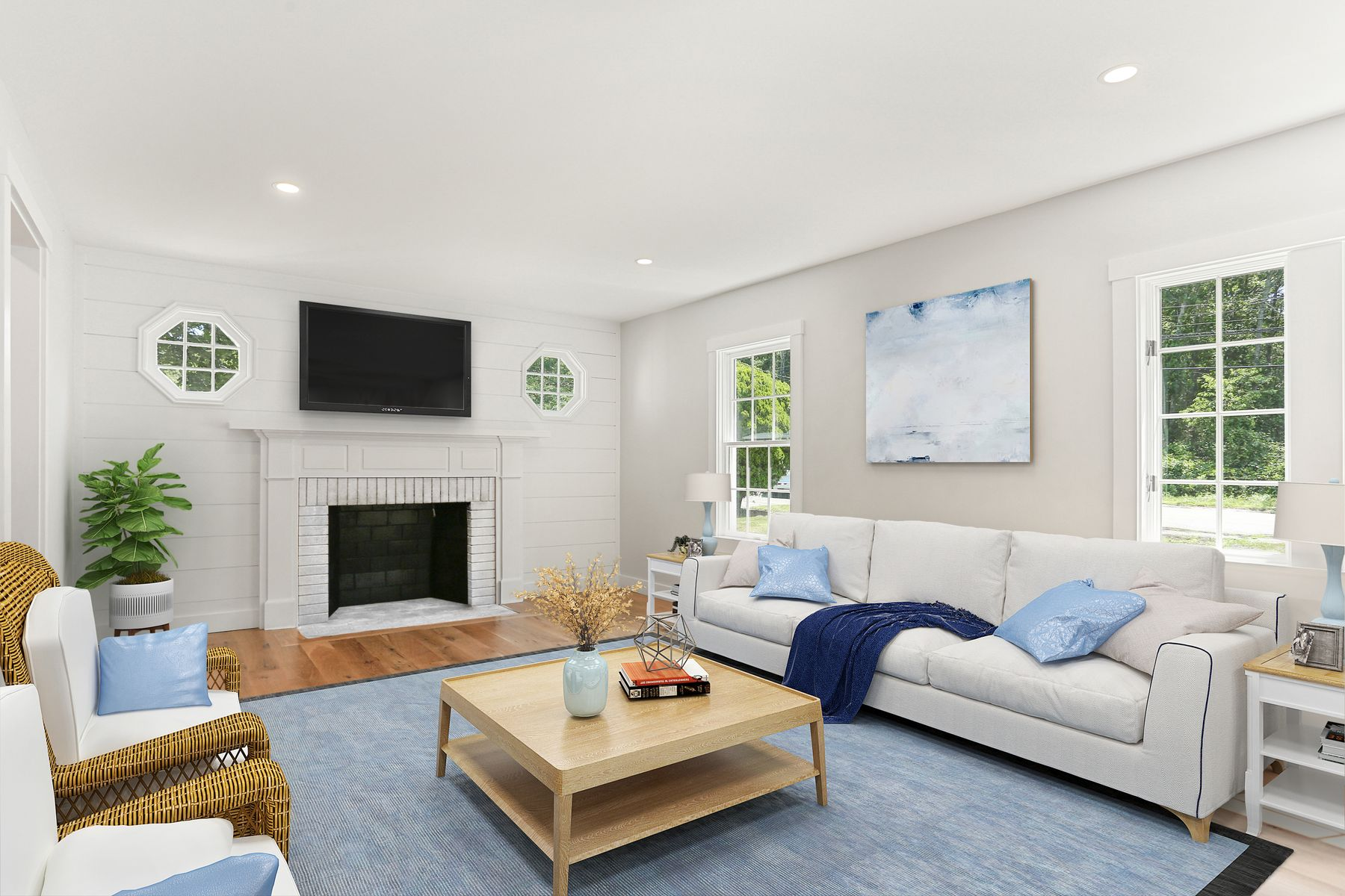 Single Family Homes 为 销售 在 842 West Falmouth Highway, Falmouth, MA 西法尔茅斯, 马萨诸塞州 02540 美国