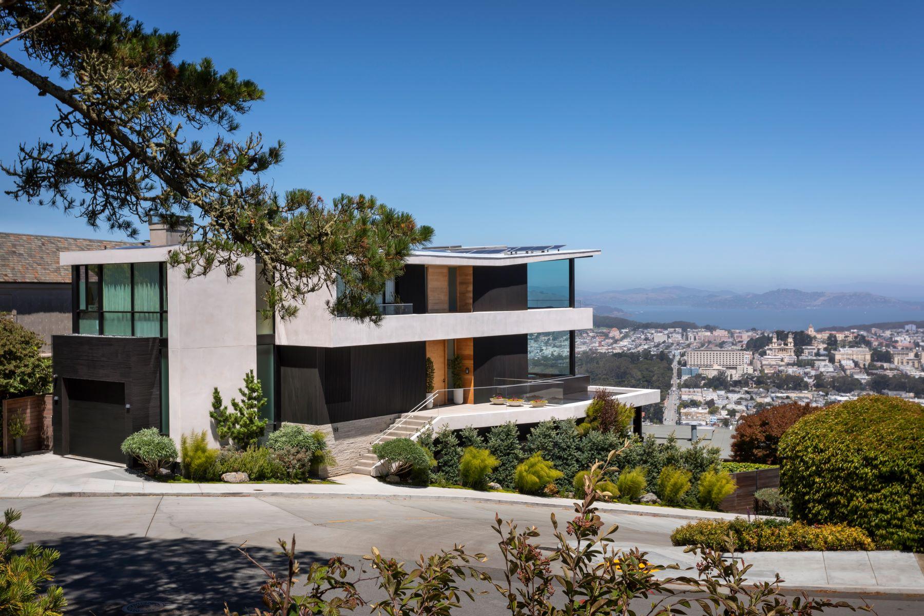 Single Family Homes pour l Vente à Architectural Masterpiece 150 Glenbrook Ave, San Francisco, Californie 94114 États-Unis