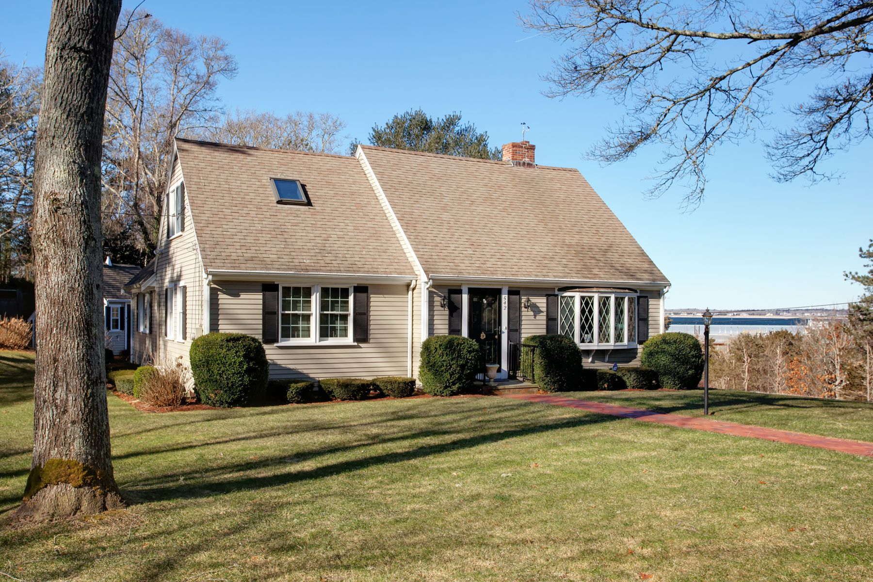 Single Family Home for Active at Cape with Beach Views 542 Shore Road Bourne, Massachusetts 02553 United States