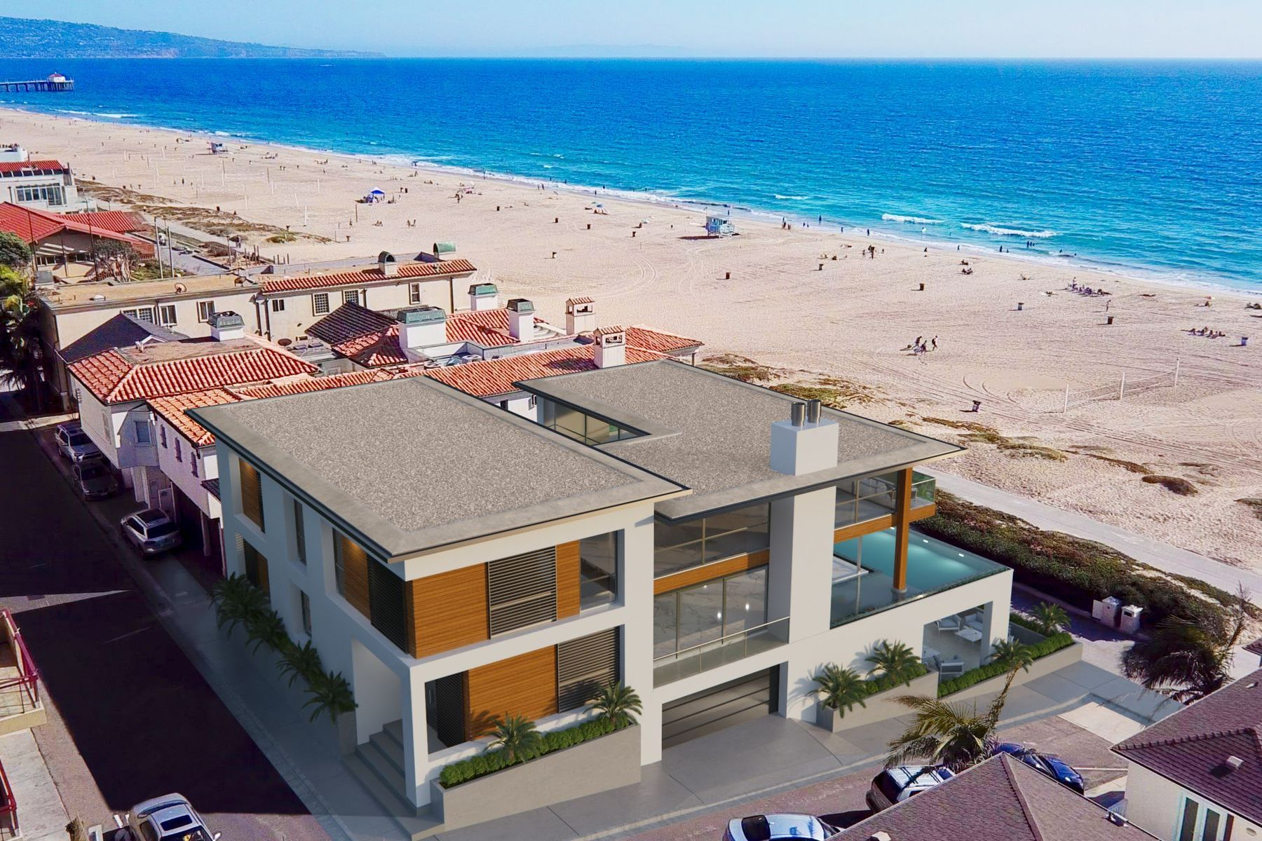Single Family Homes for Sale at 2722 The Strand Manhattan Beach, California 90266 United States