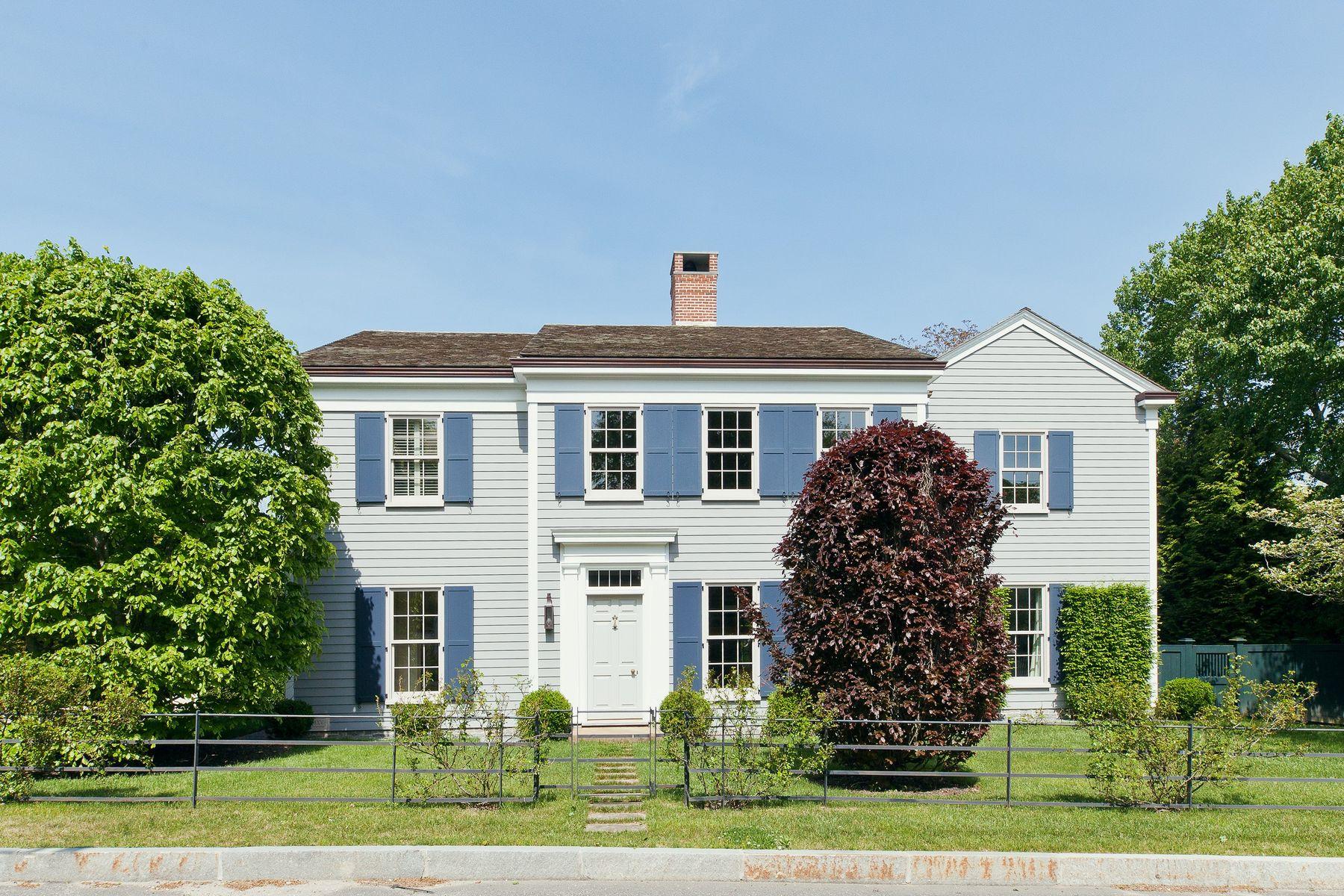 Single Family Homes för Försäljning vid Luxury Reimagined in Sag Harbor 43 Suffolk Street, Sag Harbor, New York 11963 Förenta staterna