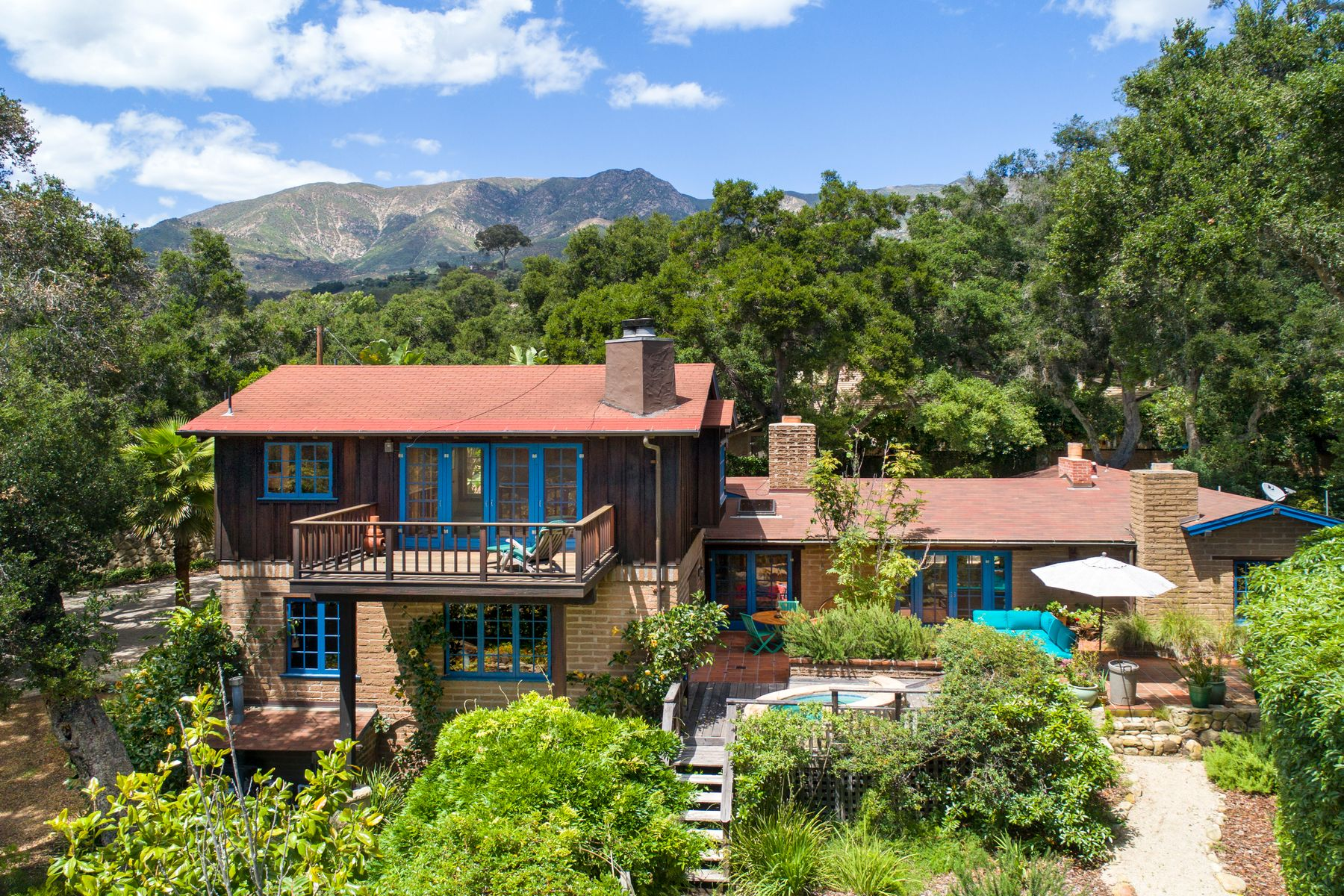Property for Sale at Beautiful Adobe in Rural Montecito 2942 Torito Road Santa Barbara, California 93108 United States