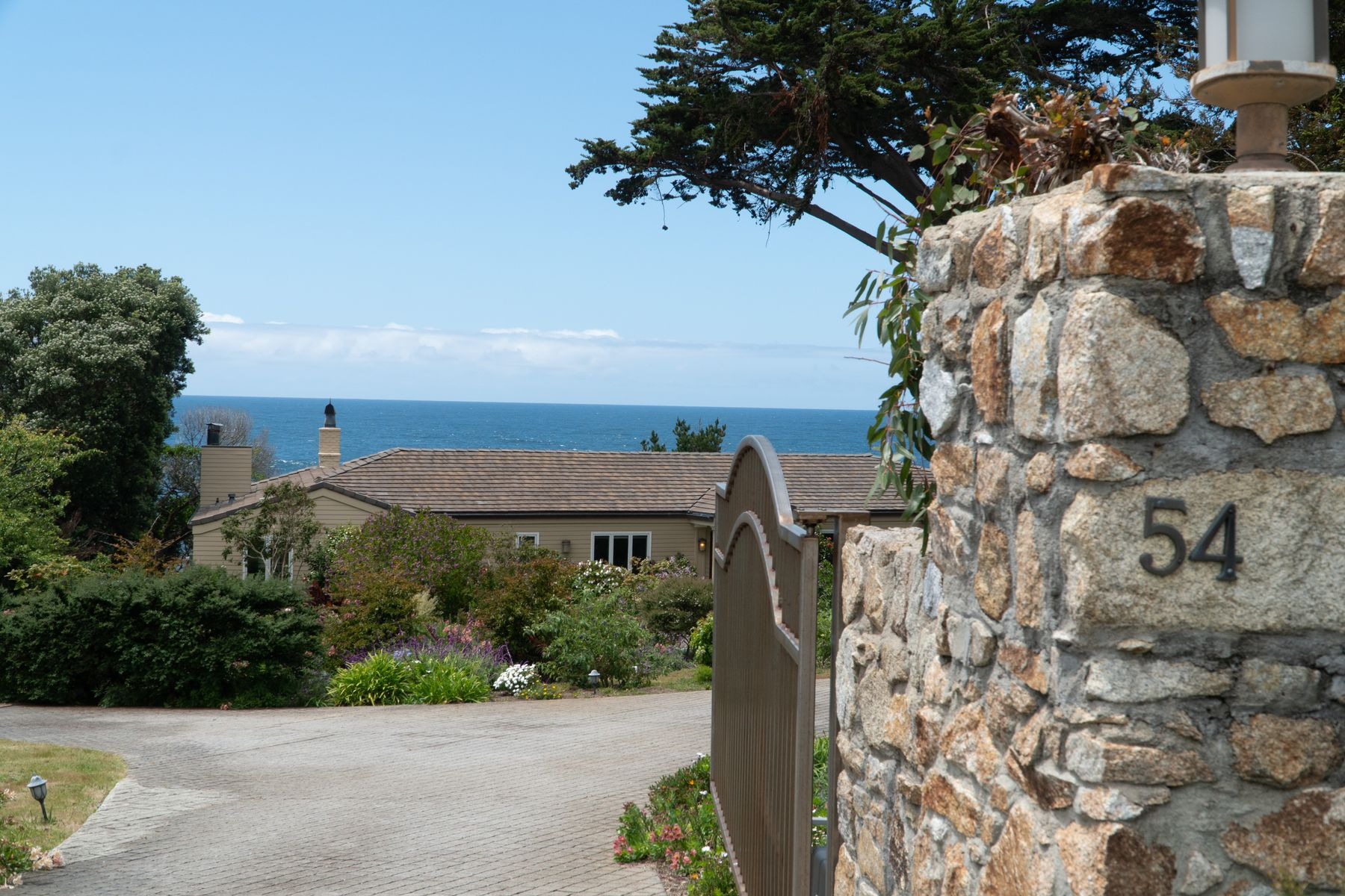 Single Family Homes for Sale at Spectacular Ocean Front Property 54 Yankee Point Drive Carmel, California 93923 United States