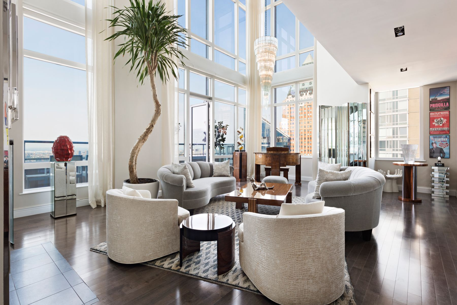 Condominiums for Sale at Platinum Penthouse 247 West 46th Street Apt PH2 New York, New York 10036 United States