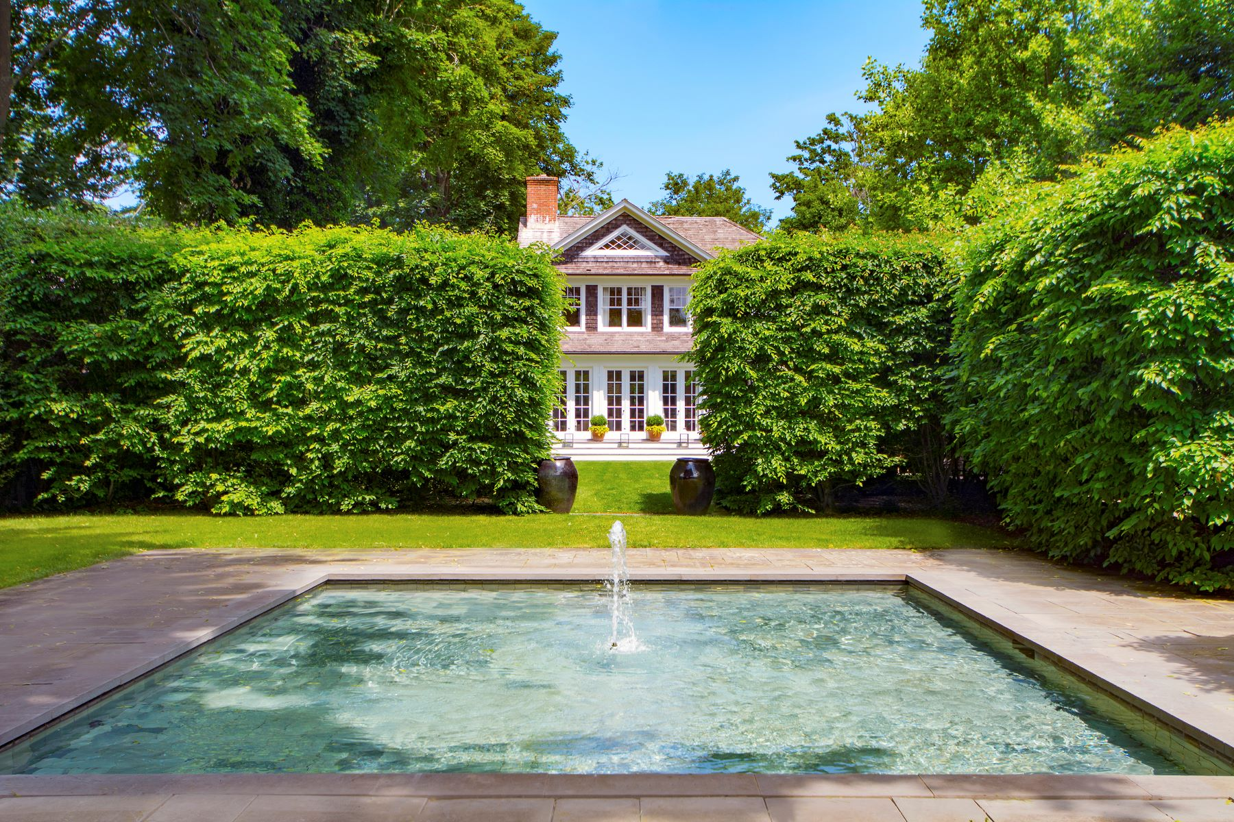 Single Family Homes for Sale at Estate-Feel in Heart of Bridgehampton 177 Maple Lane Bridgehampton, New York 11932 United States