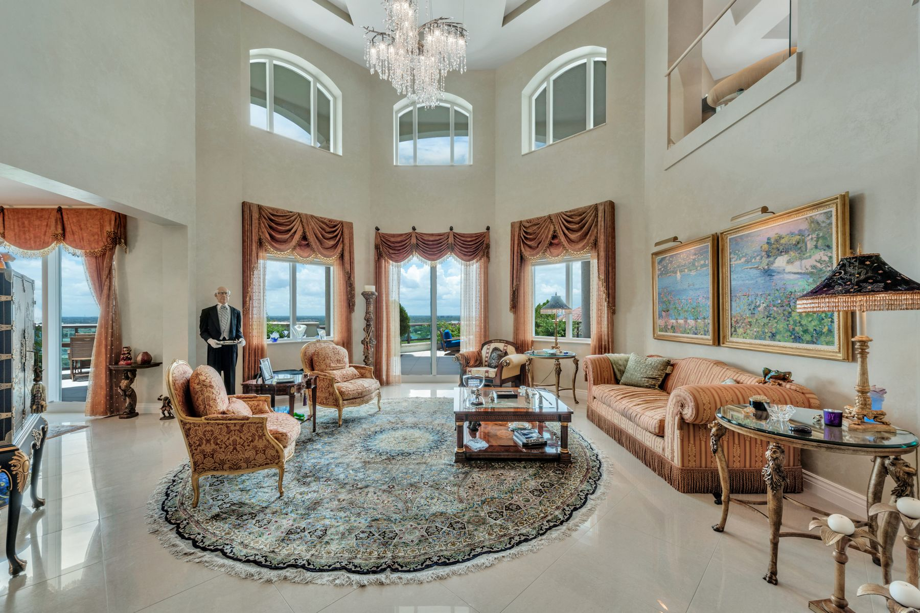 Condominiums for Sale at Landmark at the Gardens Duplex Penthouse 3620 Gardens Pkwy Unit 1702B, Palm Beach Gardens, Florida 33410 United States