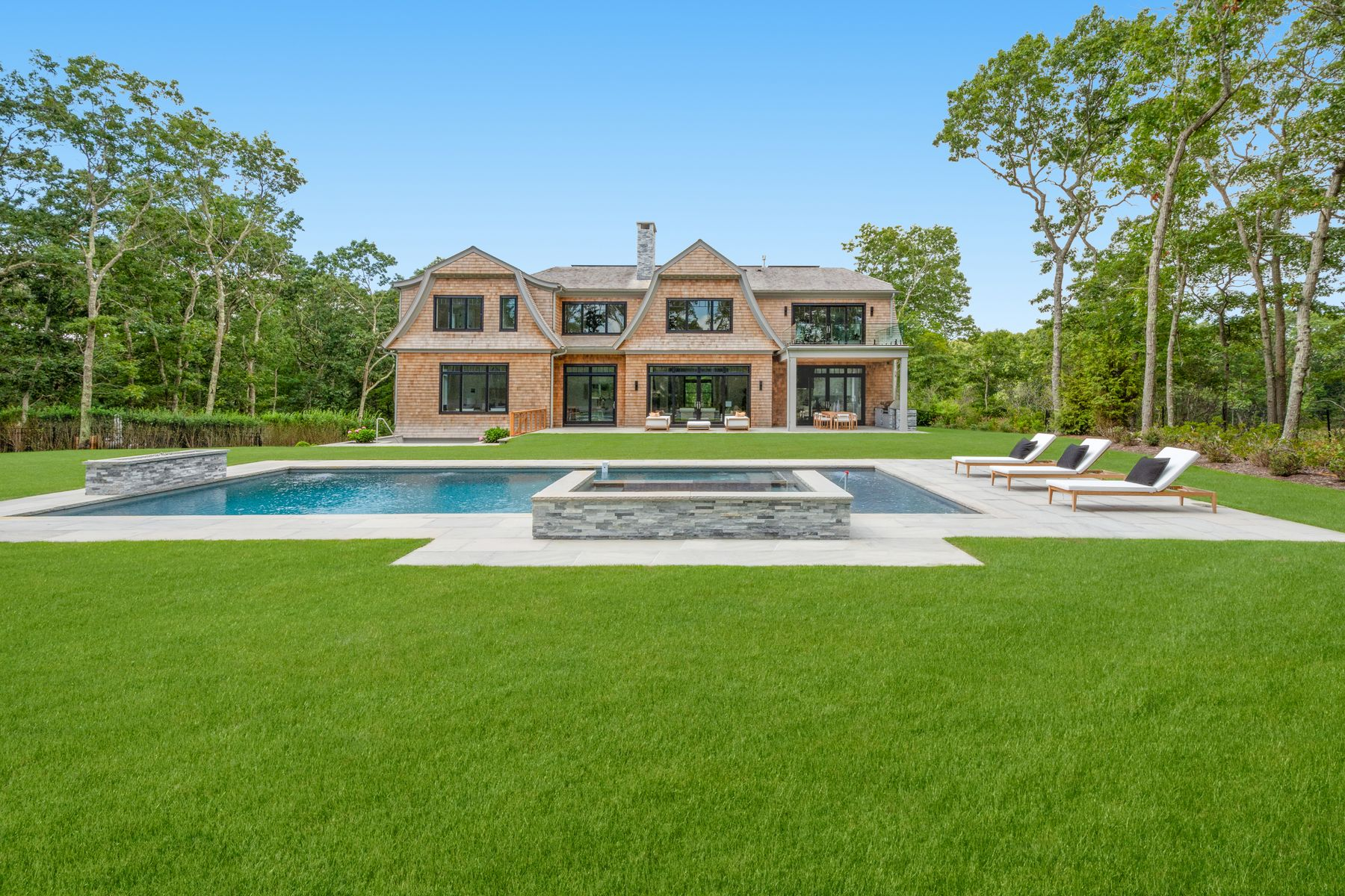 Single Family Homes for Sale at 5 Acre Estate Overlooking Golf Course 18 Fairway Court Sag Harbor, New York 11963 United States