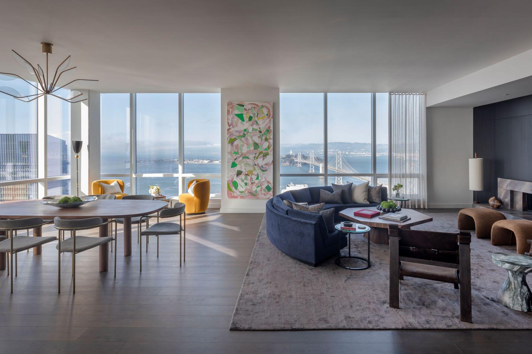Condominiums 为 销售 在 The Avery Penthouse 488 Folsom St, Penthouse 5602 旧金山, 加利福尼亚州 94105 美国