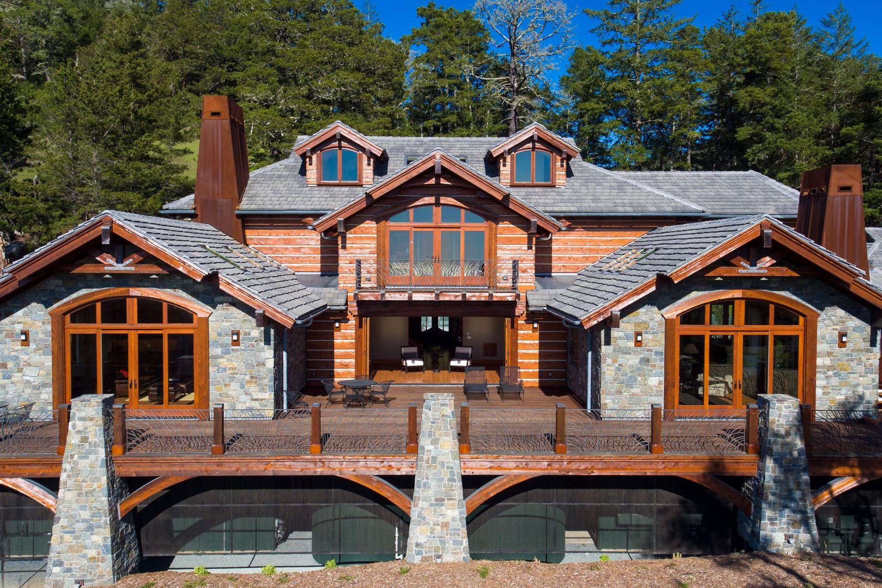 农场 / 牧场 / 种植园 为 销售 在 SF Bay Area Coastal Compound 2088 Green Oaks Way Pescadero, 加利福尼亚州 94060 美国