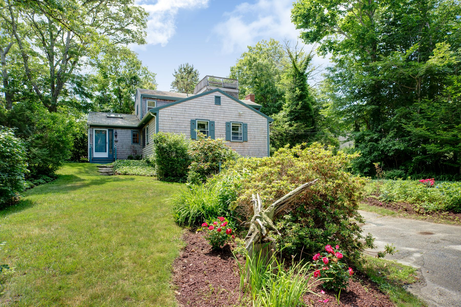 Single Family Homes for Sale at Woods Hole Village Living! 9 Strawberry Hill Road Woods Hole, Massachusetts 02543 United States