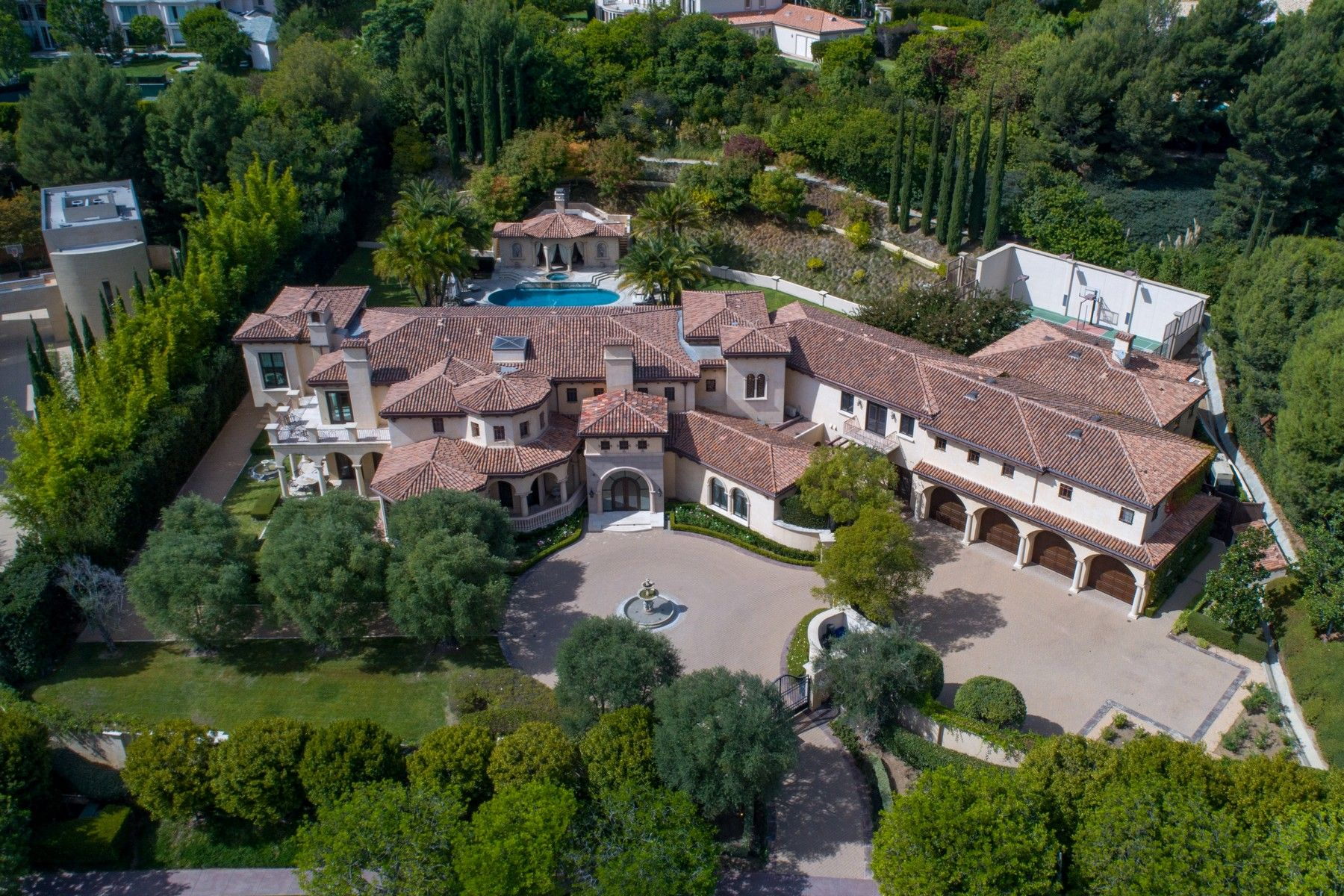 Single Family Homes for Active at 44 Beverly Park Circle Beverly Hills, California 90210 United States
