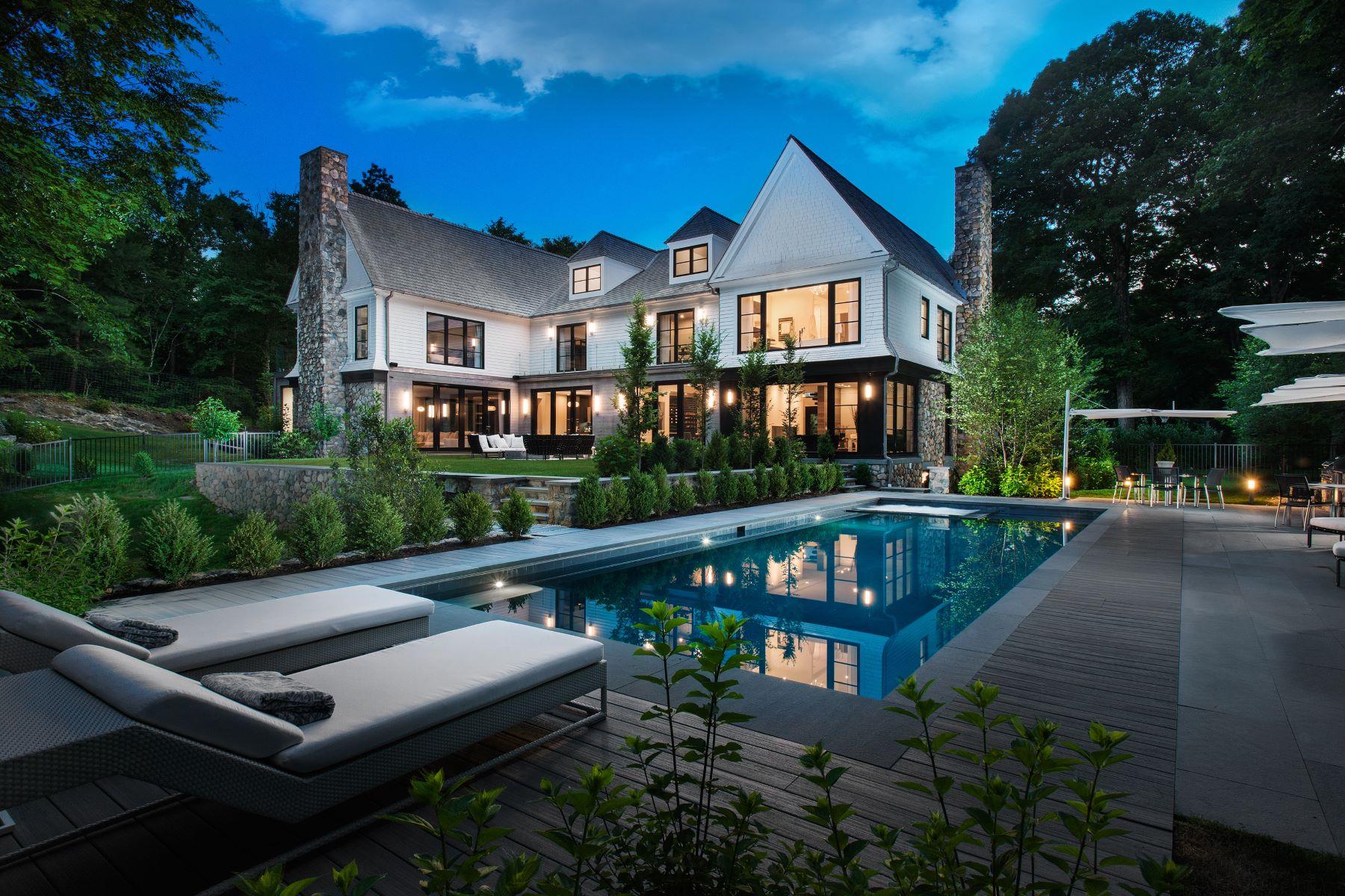 Single Family Homes için Satış at European Modern 45 Husted Lane, Greenwich, Connecticut 06830 Amerika Birleşik Devletleri
