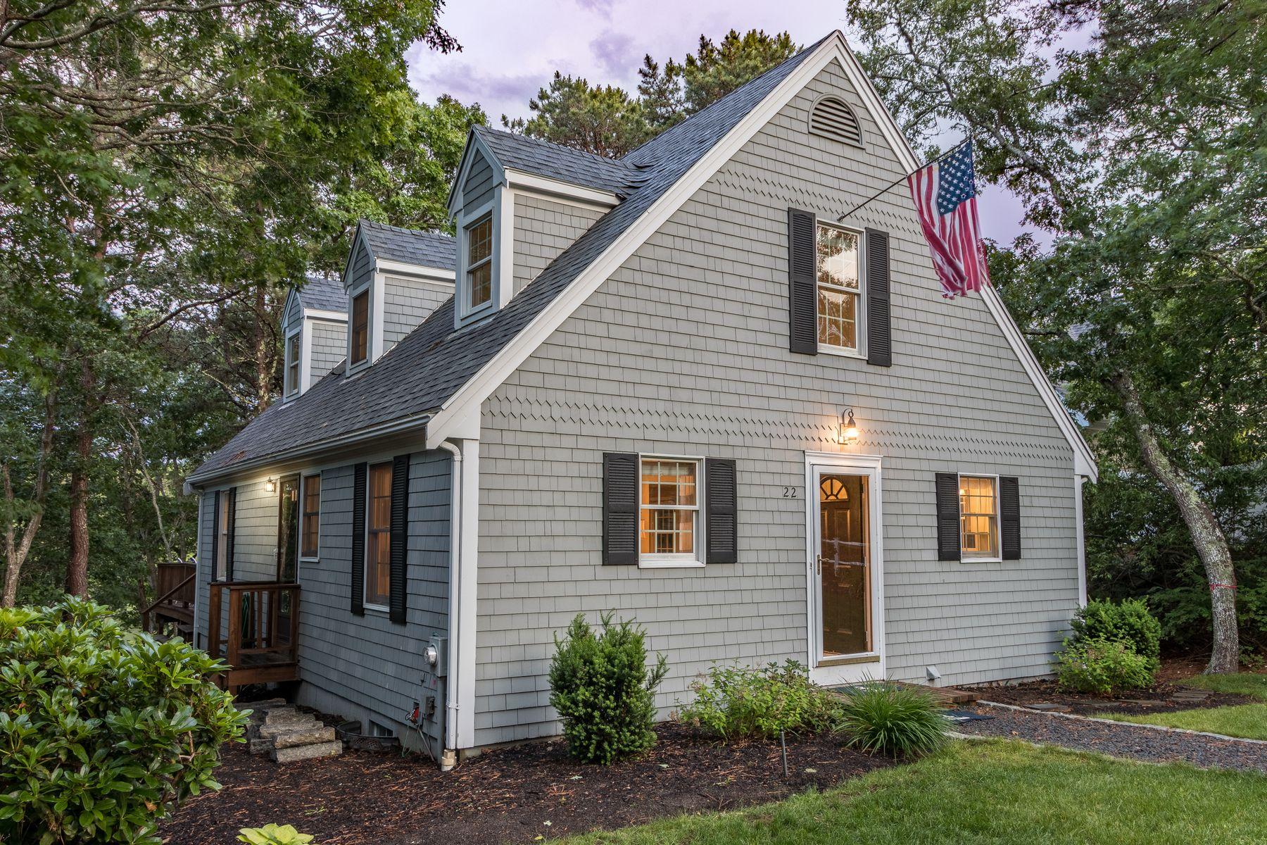 Single Family Homes for Active at 22 Quaker Run Road Mashpee, Massachusetts 02649 United States