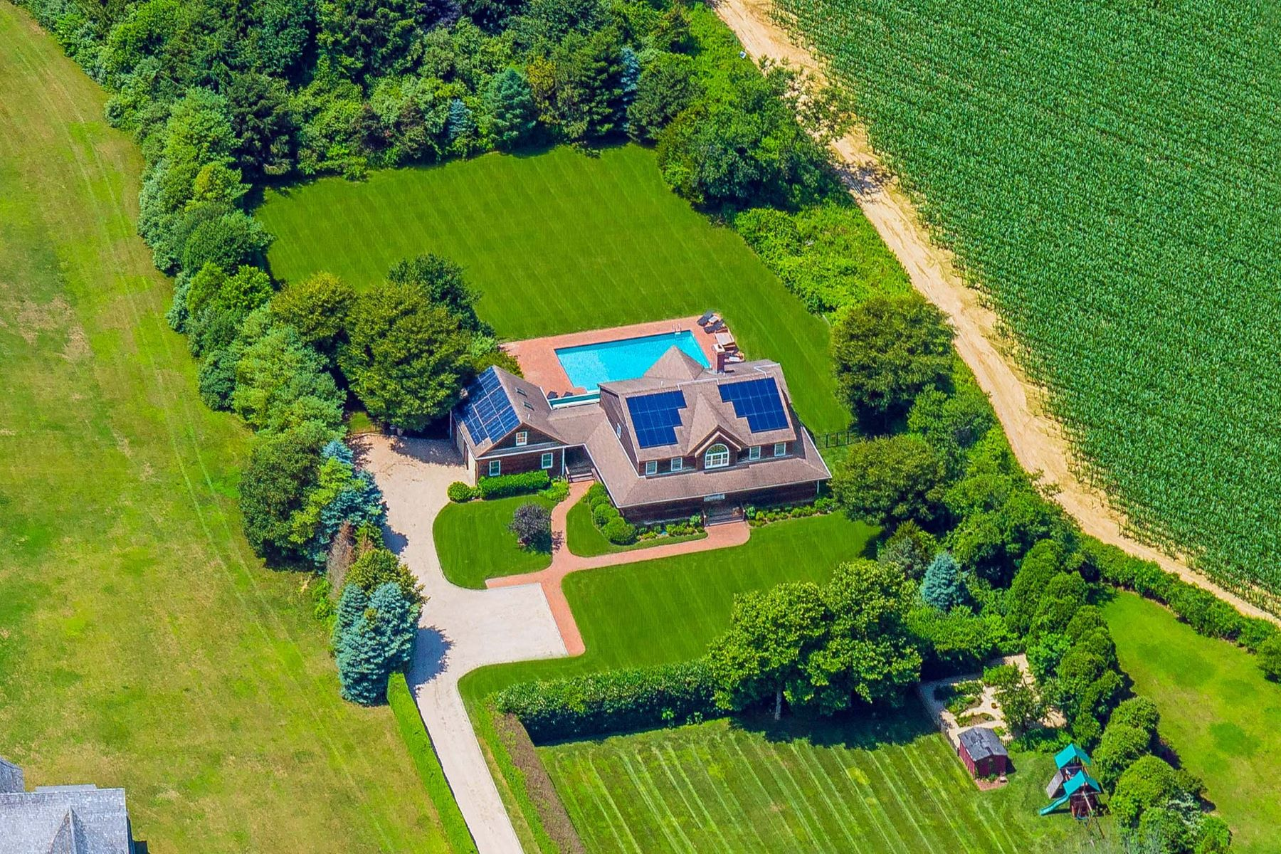 Single Family Homes for Sale at Rosè and Sunsets in Sagaponack 36 Sagg Road Sagaponack, New York 11962 United States