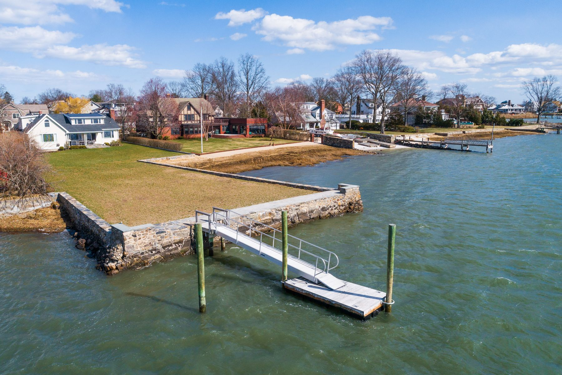 single family homes for Sale at Opportunity on Direct Water Front 7 Meadow Place, Old Greenwich, Connecticut 06870 United States