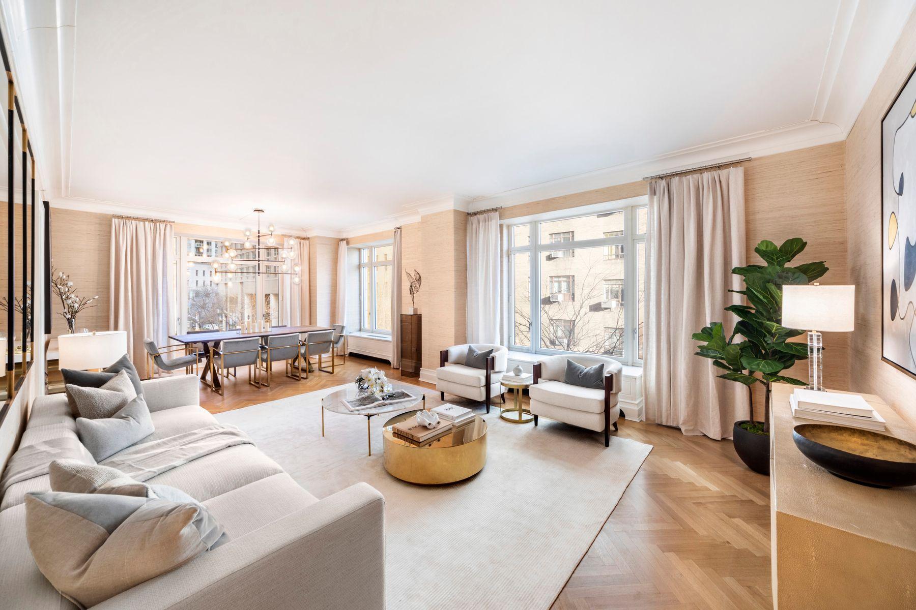 Condominiums for Sale at 15 Central Park West, 3E 15 Central Park West 3E New York, New York 10023 United States