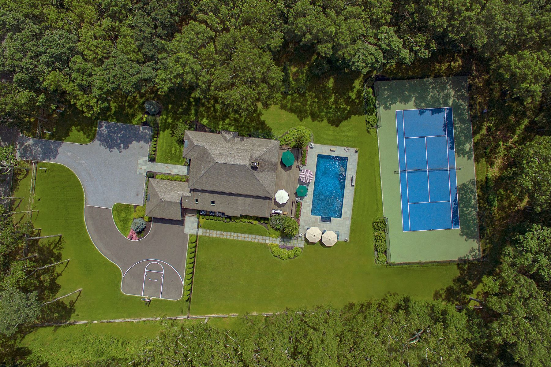 Single Family Homes for Sale at WATER MILL..RESORT LIKE LIVING 332 Noyac Path Water Mill, New York 11976 United States