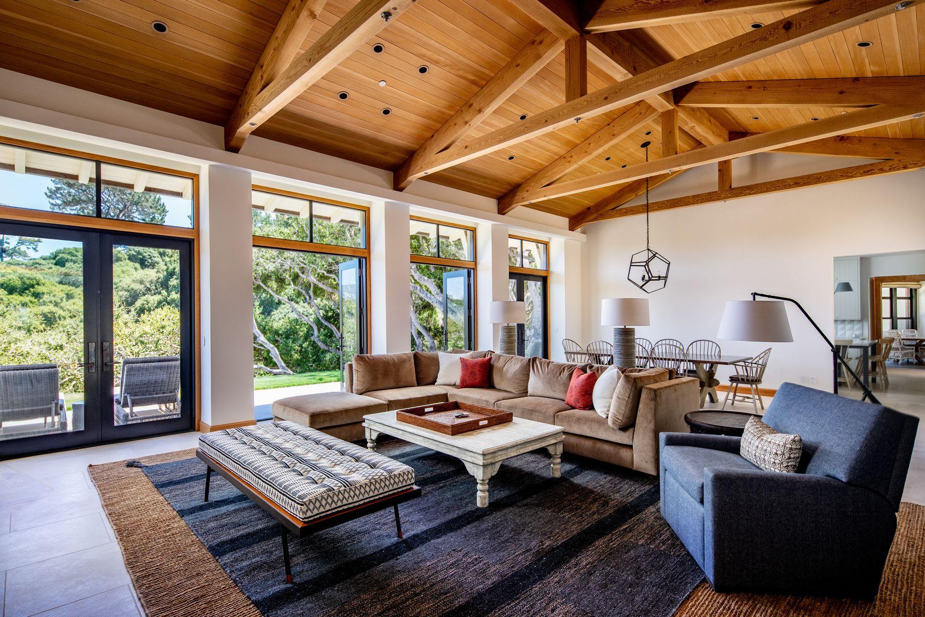 Single Family Homes for Sale at Modern Farmhouse 5493 Oak Trail Carmel, California 93923 United States