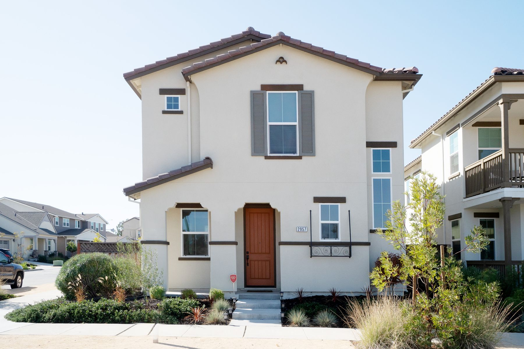 Single Family Homes for Sale at Spanish Home Corner Lot Across From Park 2957 Denali Drive Marina, California 93933 United States