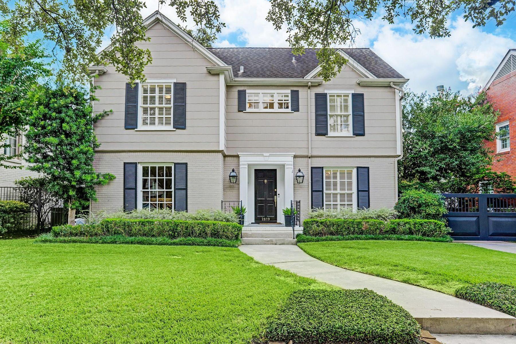 Single Family Homes 為 出售 在 West University Place, 德克薩斯州 77005 美國