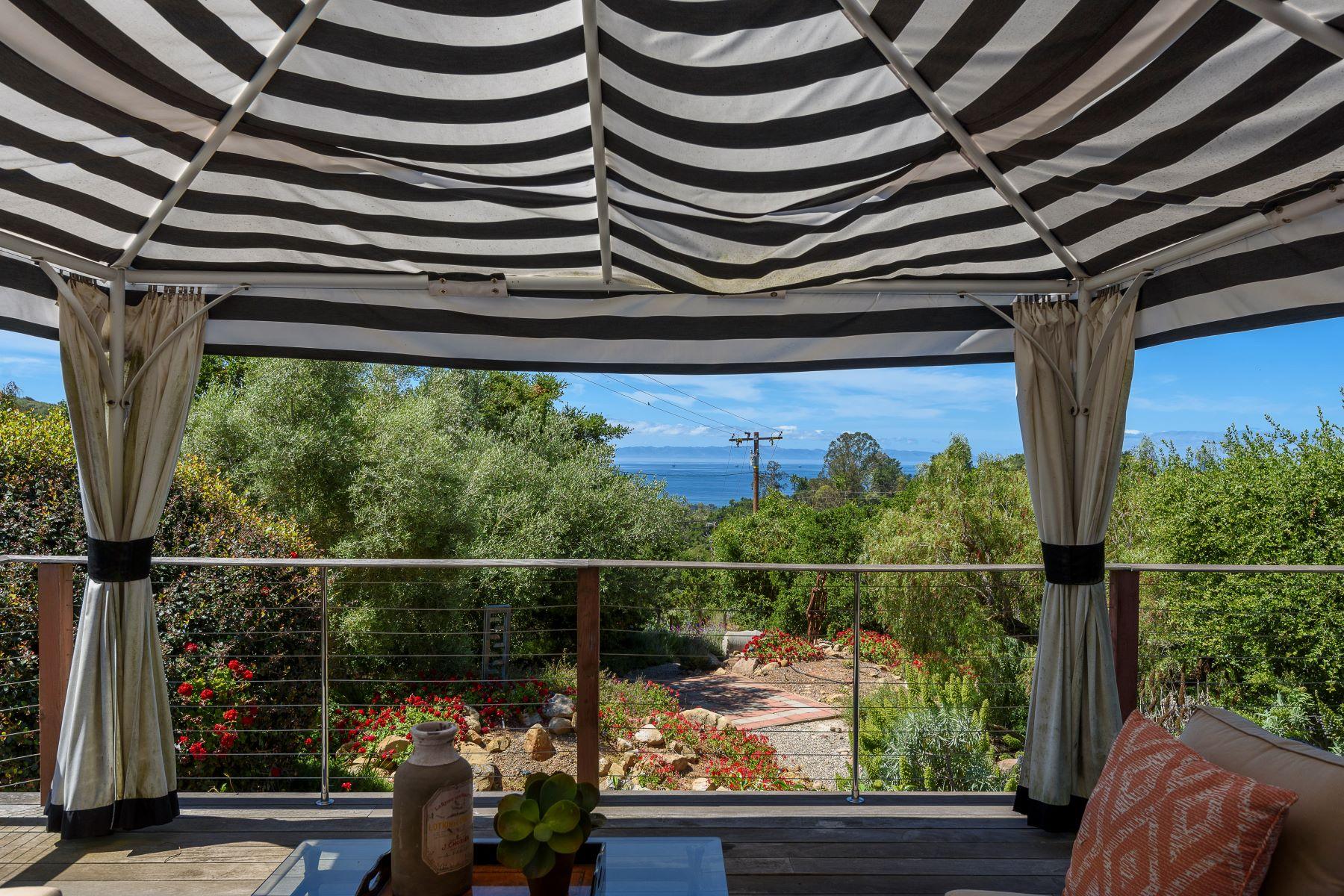 Property for Sale at Contemporary Villa, Stunning Ocean Views 685 Toro Canyon Road Santa Barbara, California 93108 United States