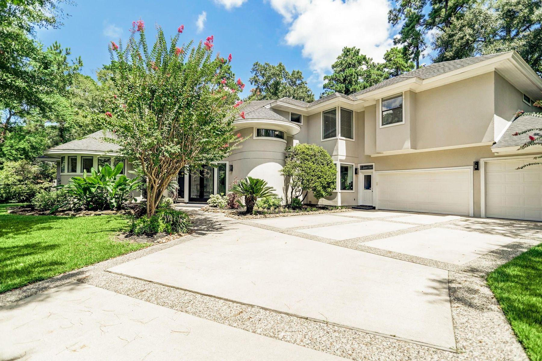 Single Family Homes 용 매매 에 The Woodlands, 텍사스 77381 미국