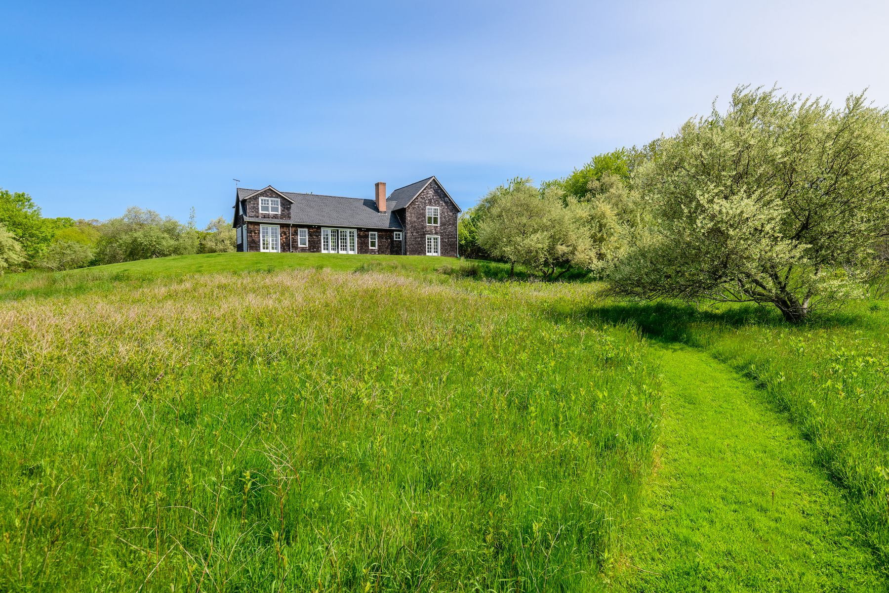 Single Family Homes for Sale at Private European-style Barn on 5 Acres 87 Day Lily Lane Bridgehampton, New York 11932 United States