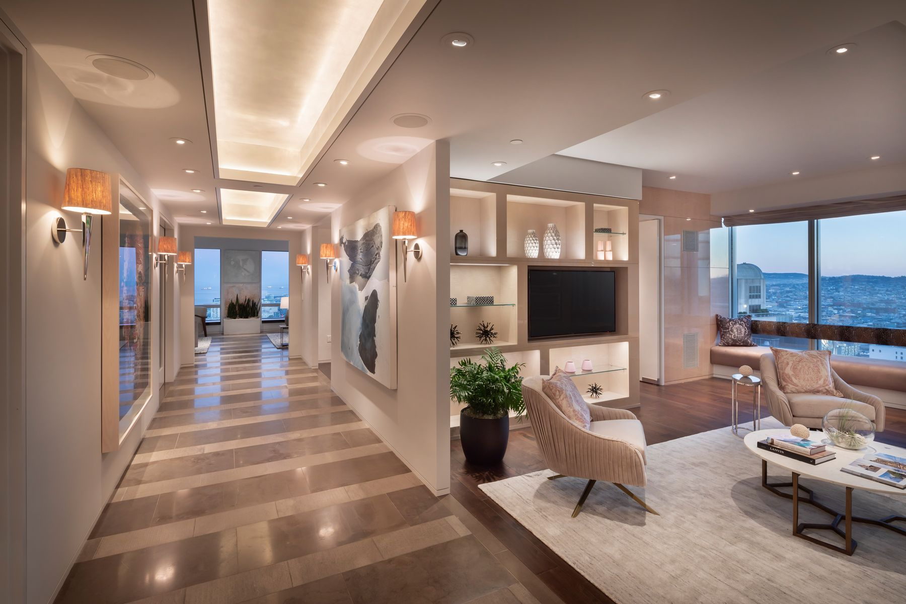 Condominiums 为 销售 在 4,550 SqFt Four Seasons Residence 34A 765 Market St Apt 34A 旧金山, 加利福尼亚州 94103 美国