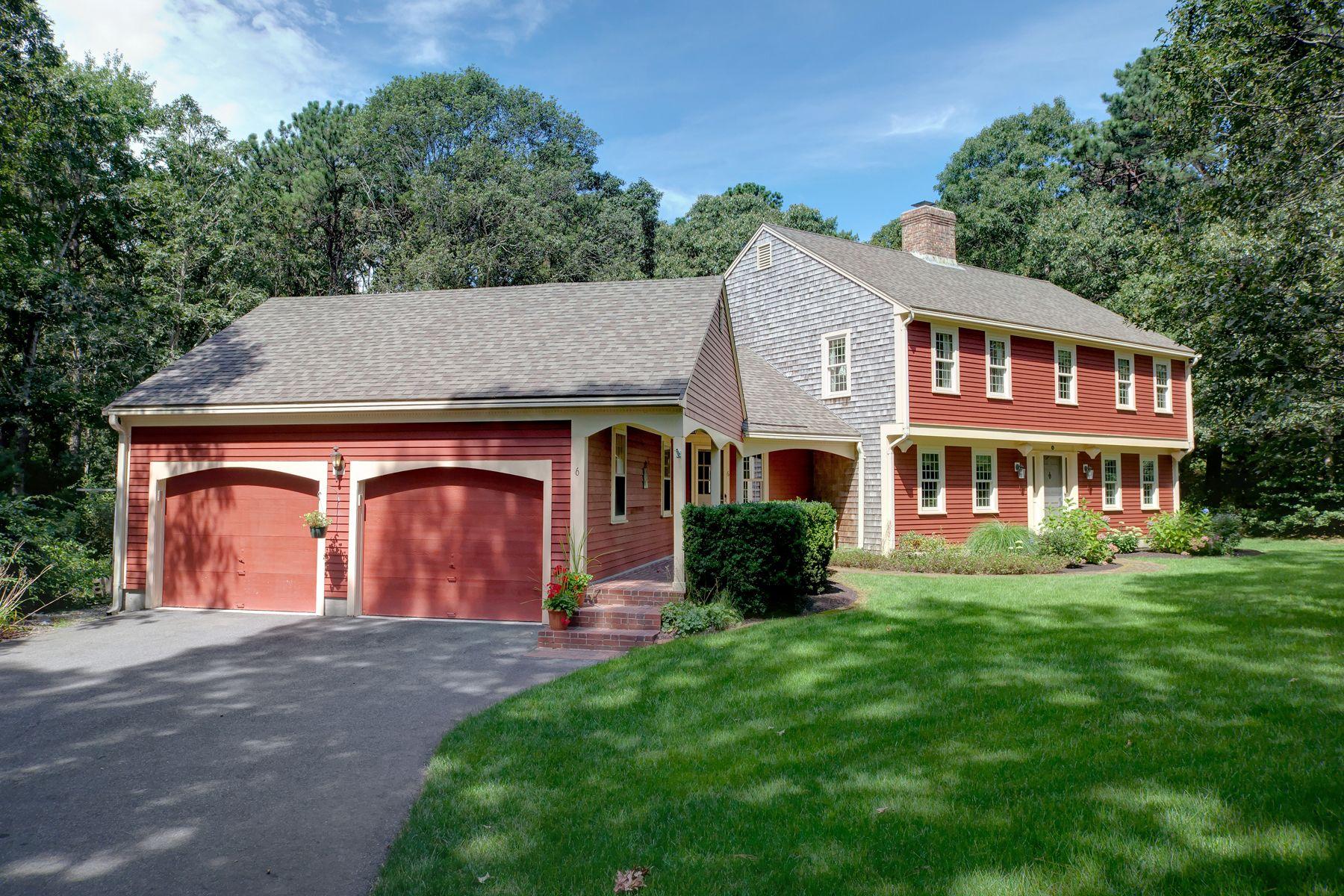 Single Family Homes pour l Vente à 6 Tarragon Drive East Sandwich, Massachusetts 02537 États-Unis